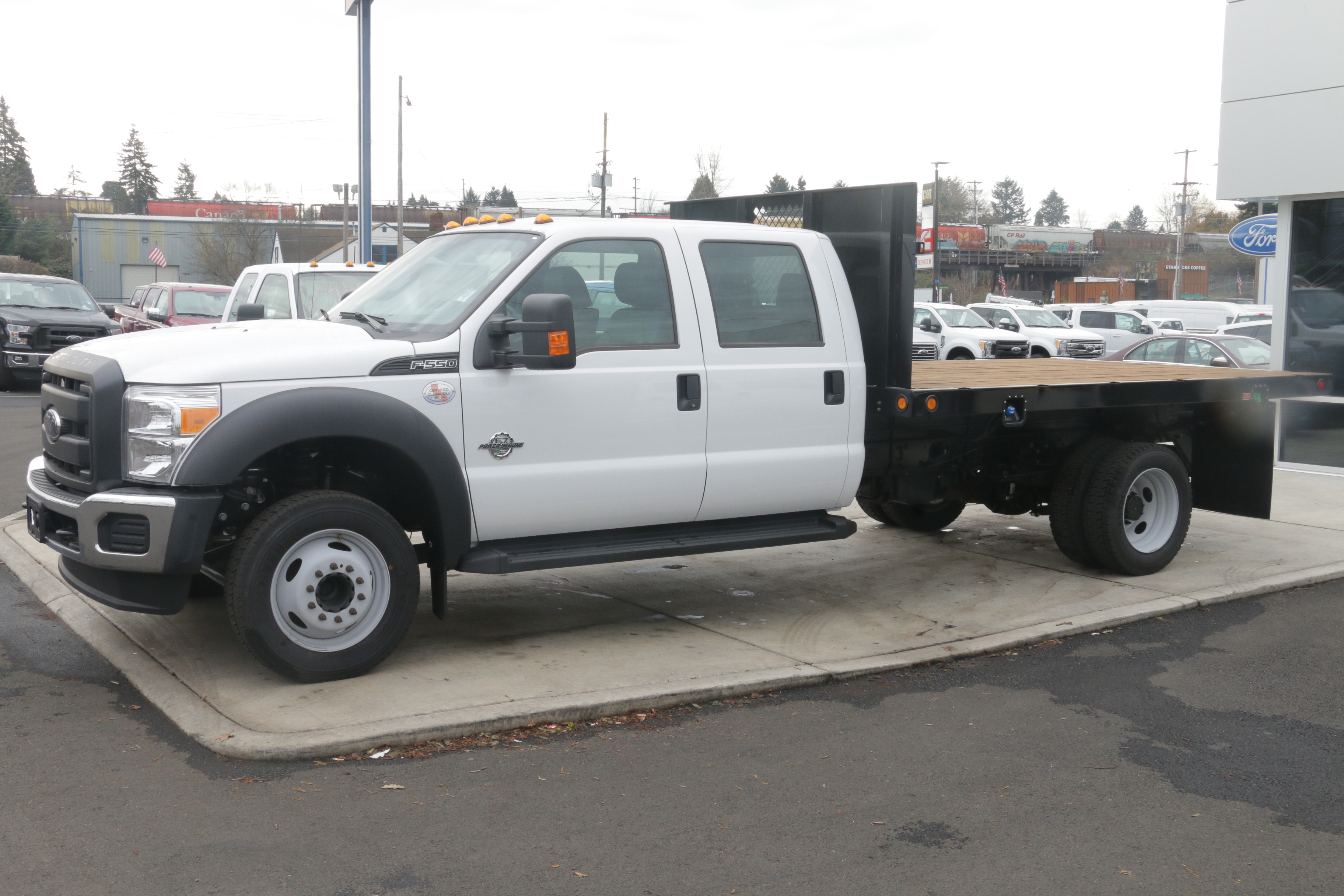 2016 F-550 Crew Cab DRW, Reading Platform Body #5387 - photo 5