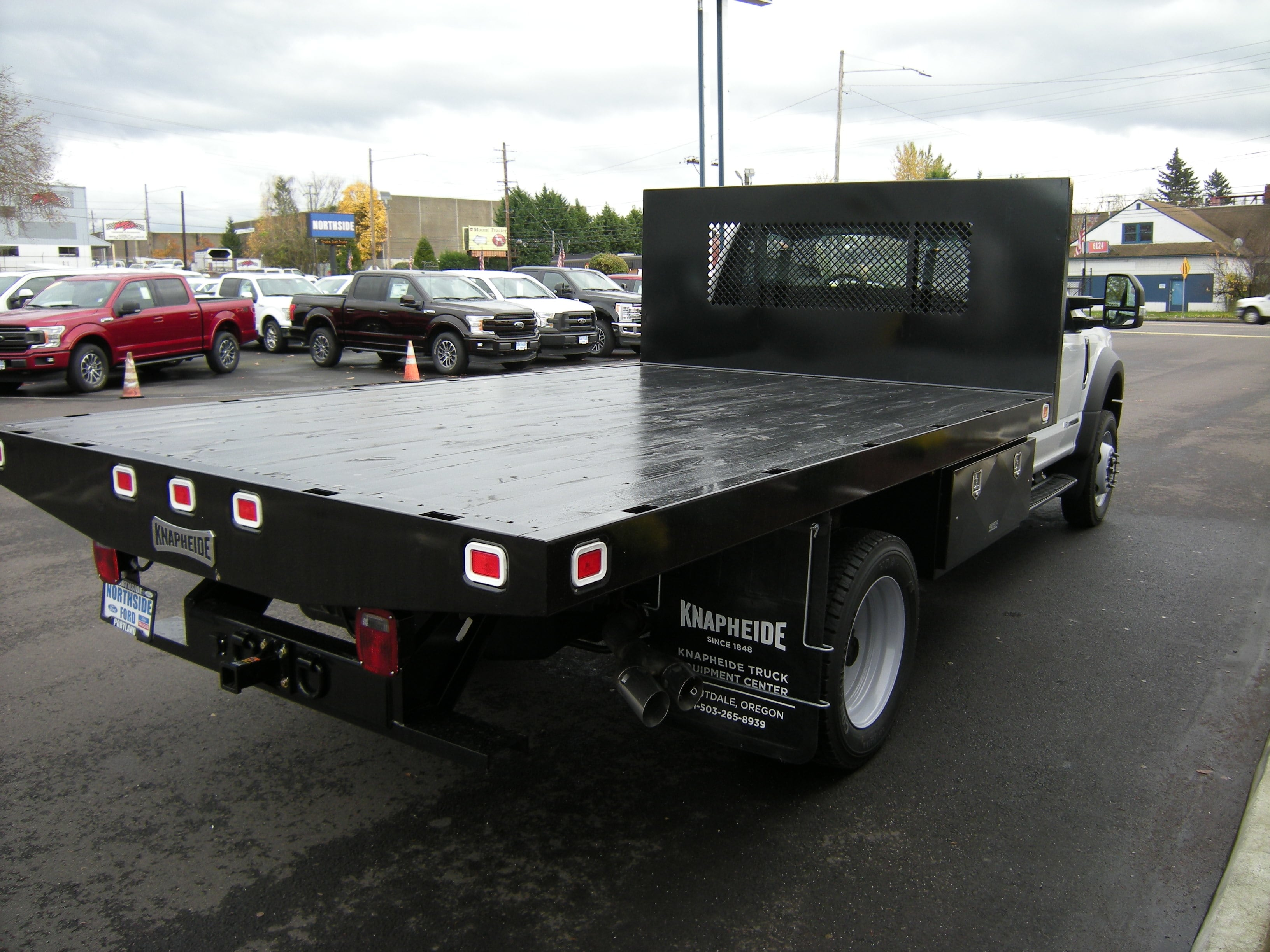 2017 F-550 Regular Cab DRW Platform Body #5505 - photo 2