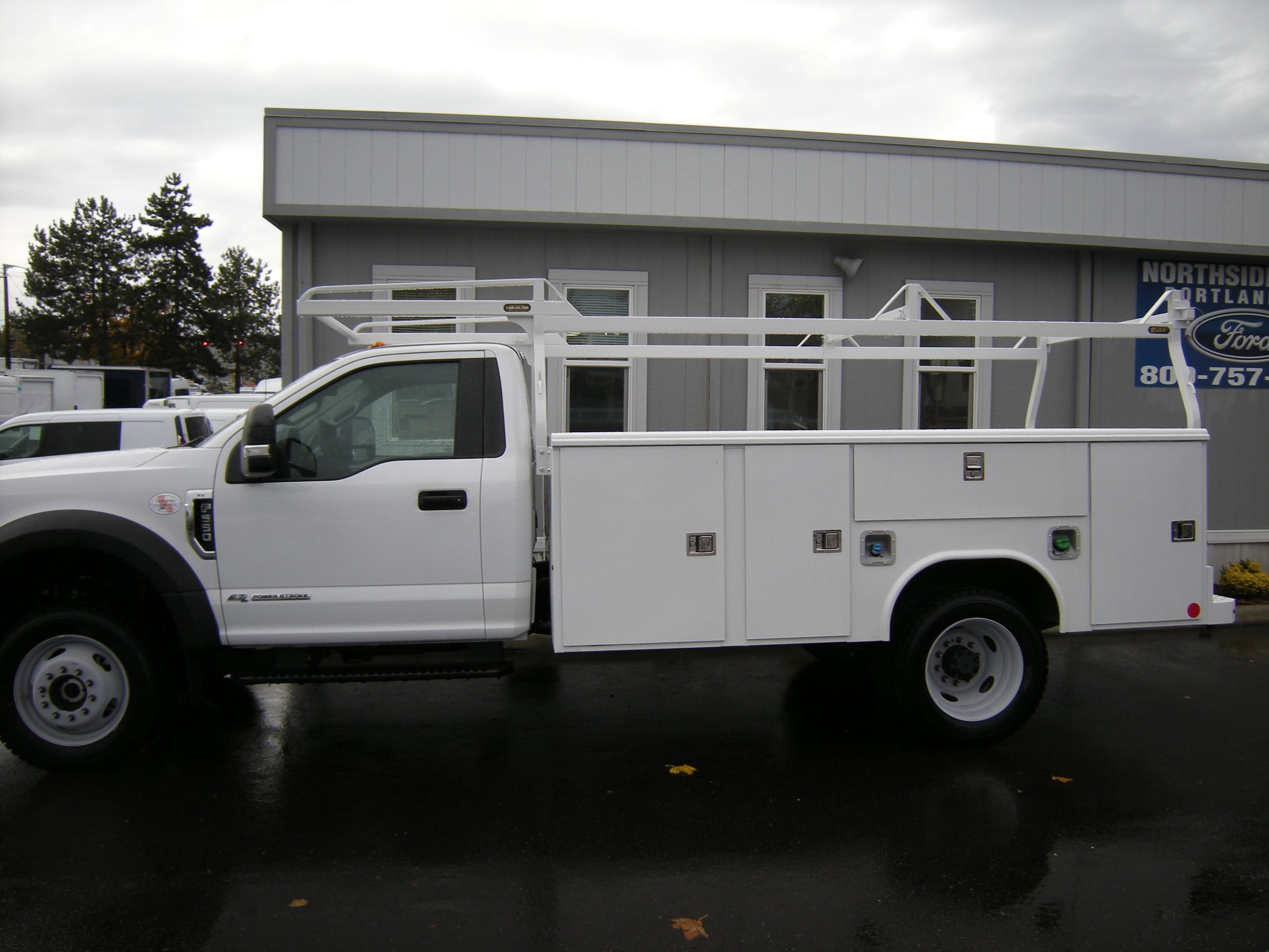 2017 F-550 Regular Cab DRW 4x4 Service Body #5554 - photo 2