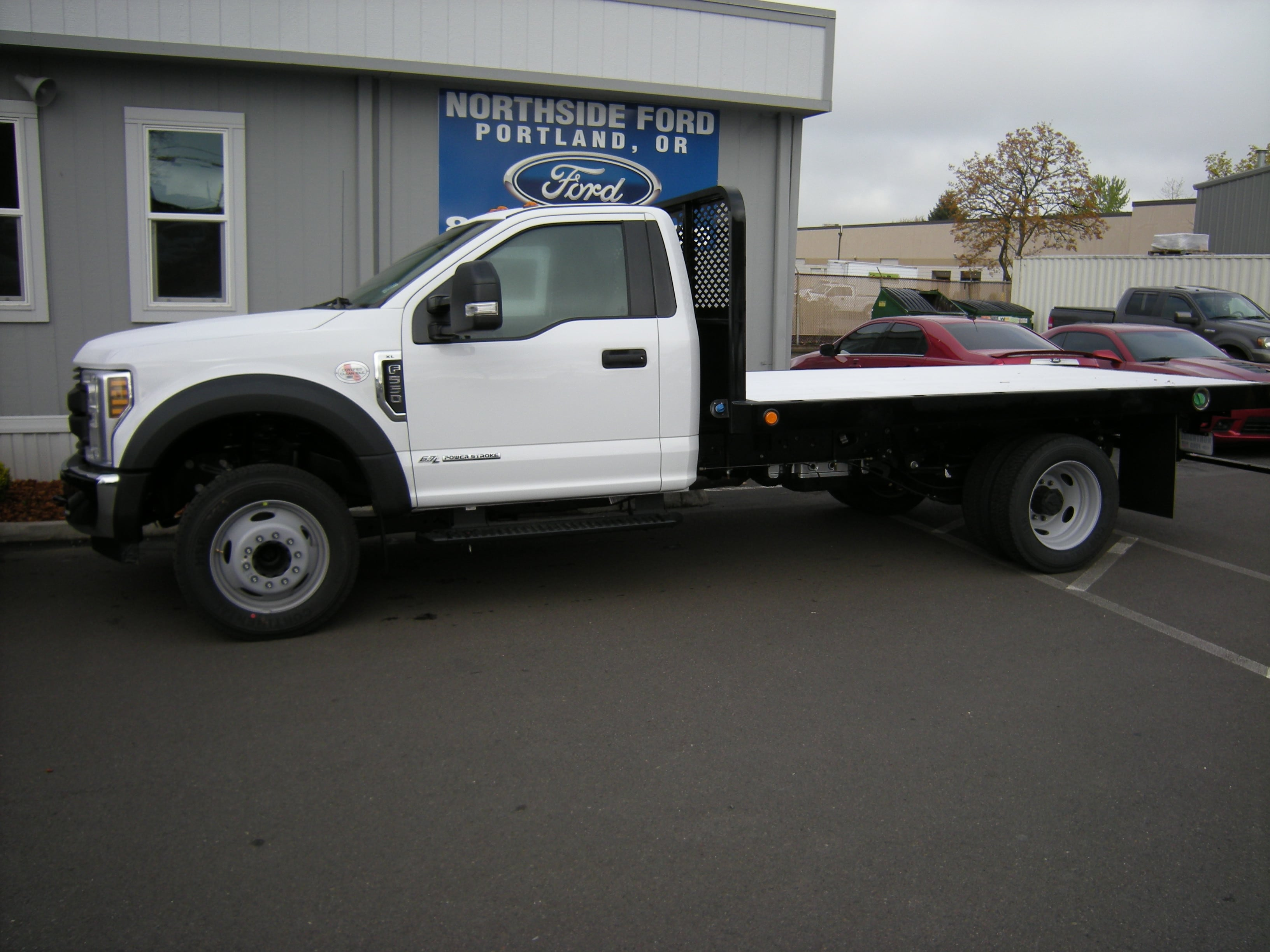 2018 F-550 Regular Cab DRW, Platform Body #5690 - photo 3