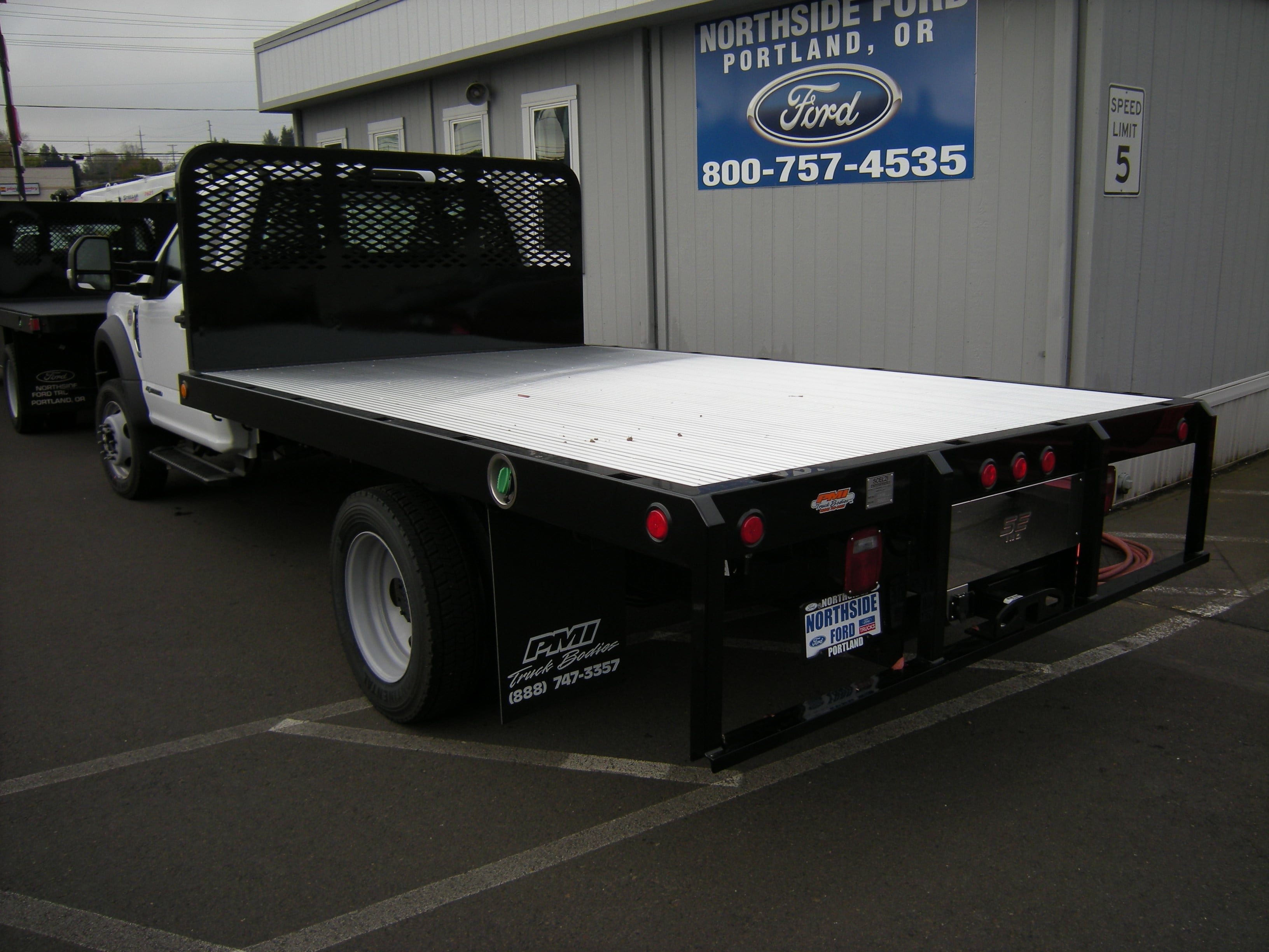 2018 F-550 Regular Cab DRW, Platform Body #5690 - photo 2