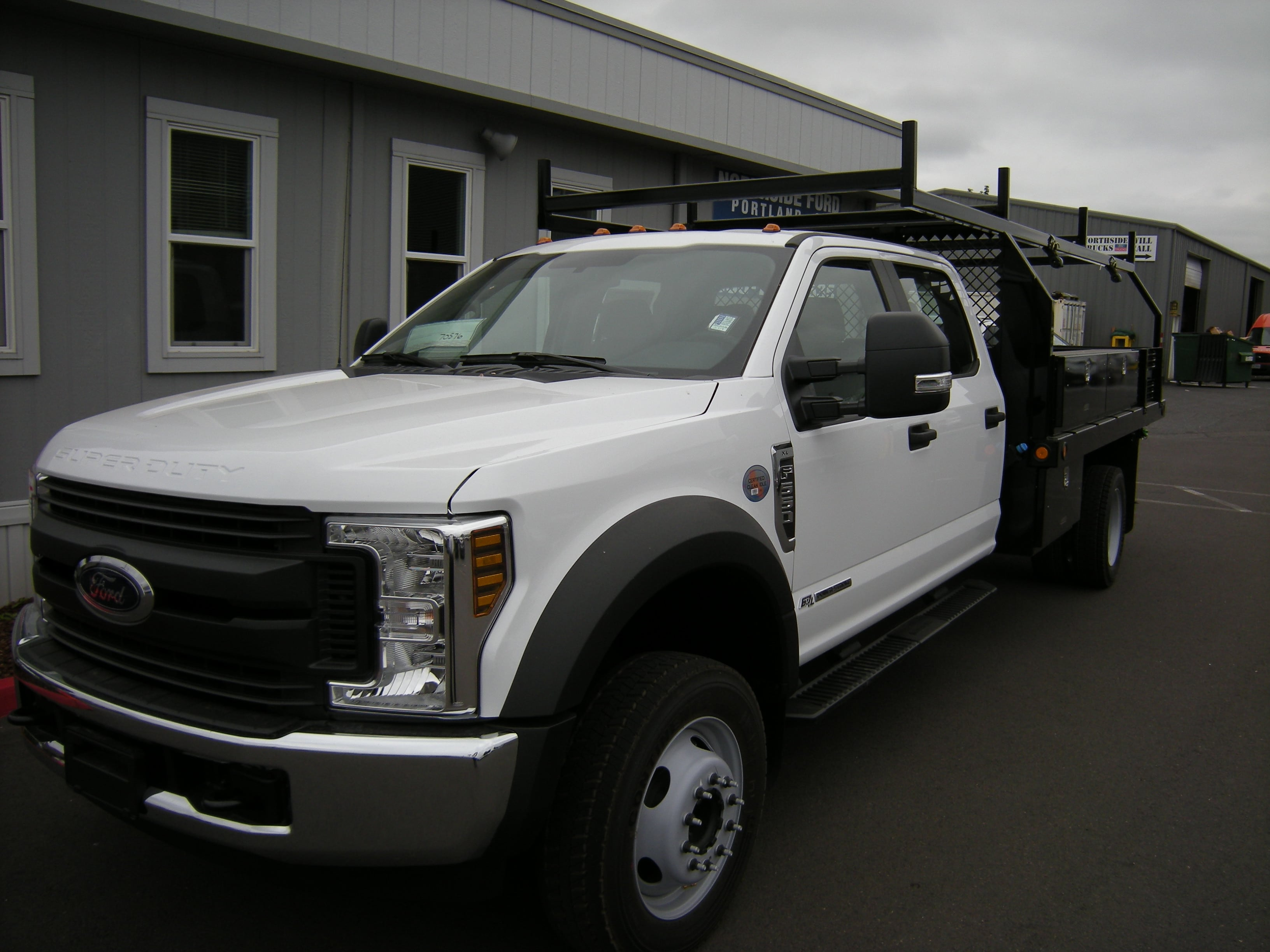 2018 F-550 Crew Cab DRW 4x2,  Contractor Body #5719 - photo 1