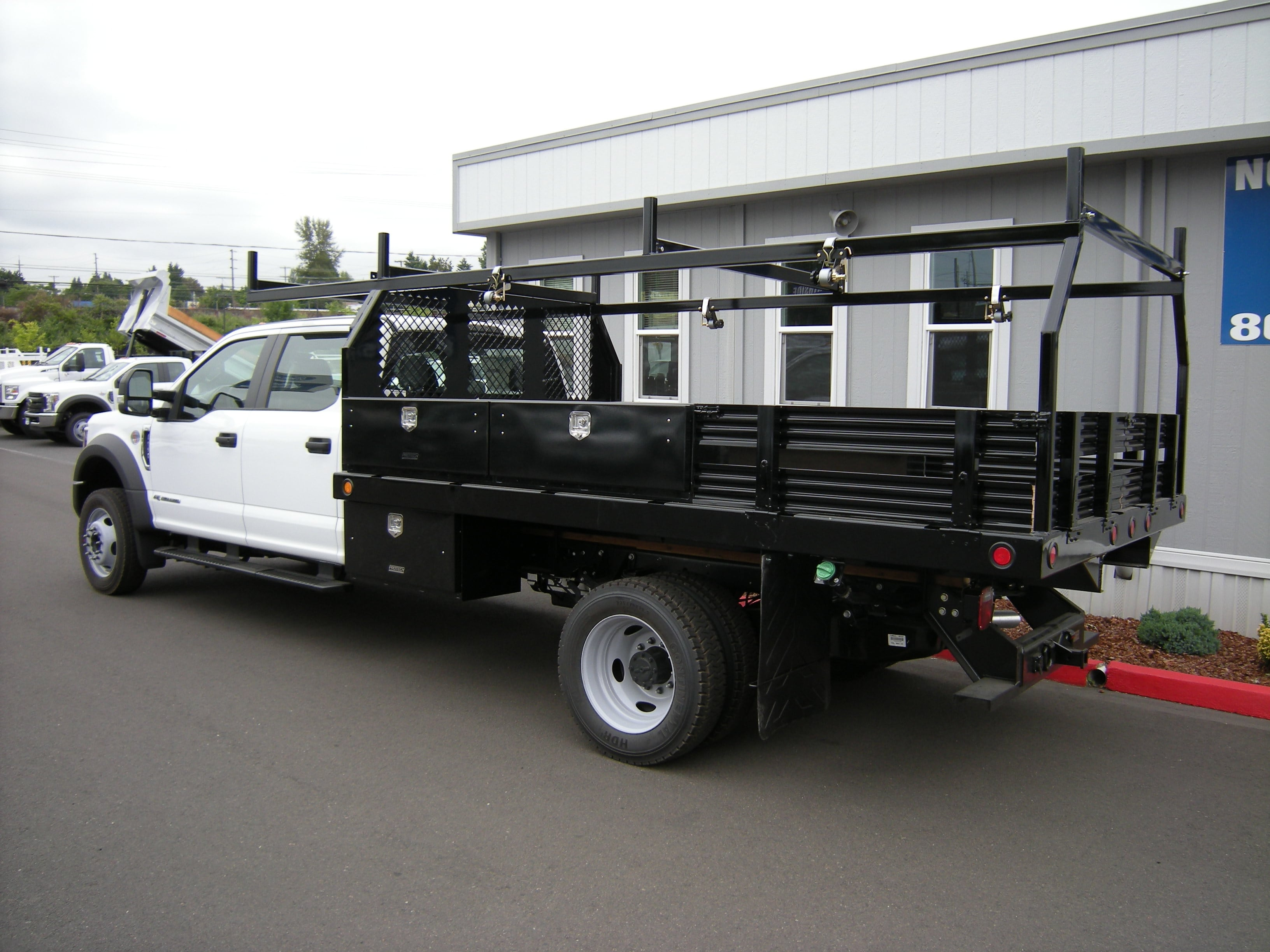 2018 F-550 Crew Cab DRW 4x2,  Contractor Body #5719 - photo 2