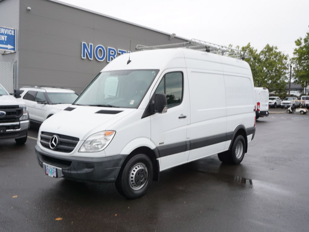 2013 Mercedes-Benz Sprinter 3500 RWD, Upfitted Cargo Van #5949A - photo 1