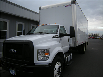 2018 F-650 Regular Cab DRW, Dry Freight #6787 - photo 1