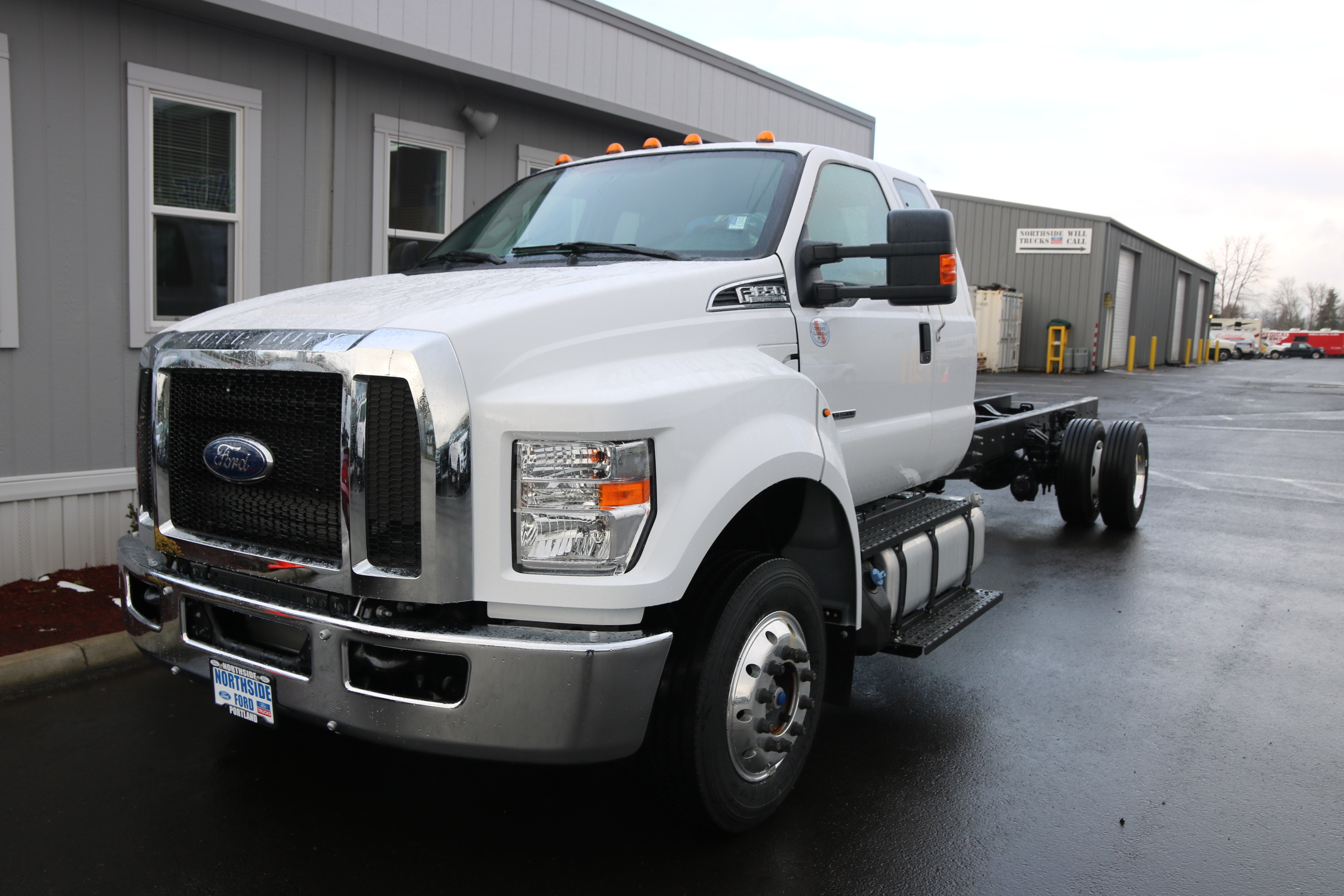 New 2018 Ford F 650 Super Cab Cab Chassis