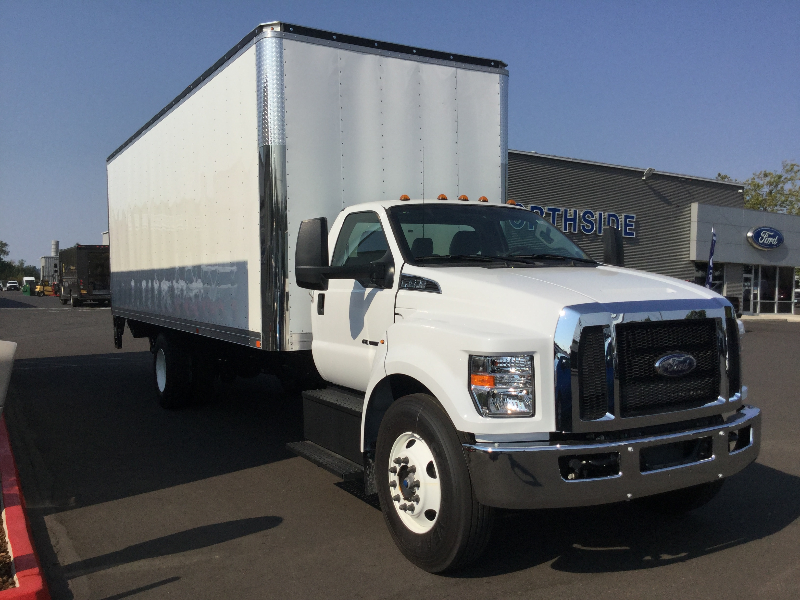 2018 F-650 Regular Cab DRW 4x2,  Summit Dry Freight #6803 - photo 3