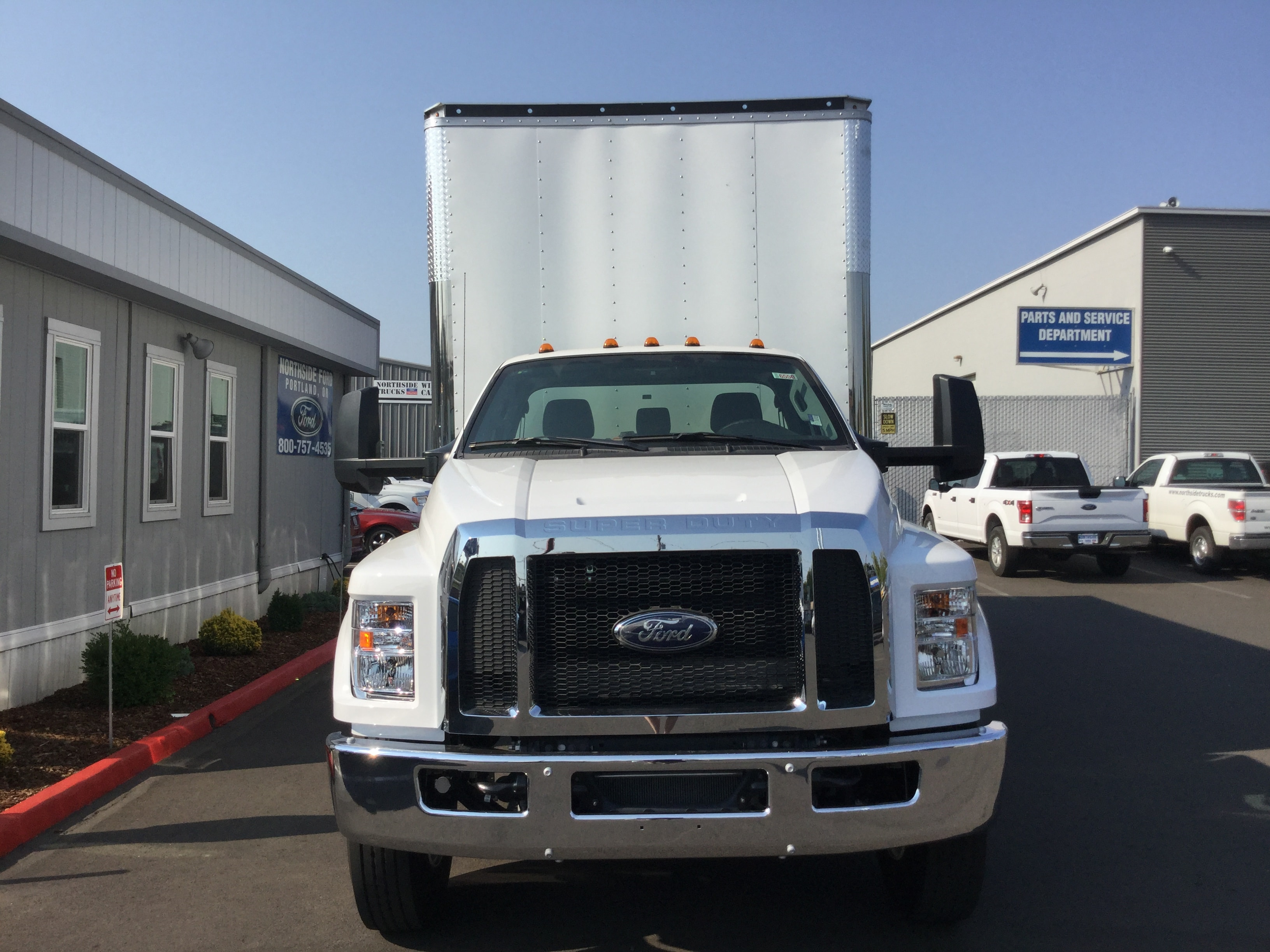 2018 F-650 Regular Cab DRW 4x2,  Summit Dry Freight #6803 - photo 4