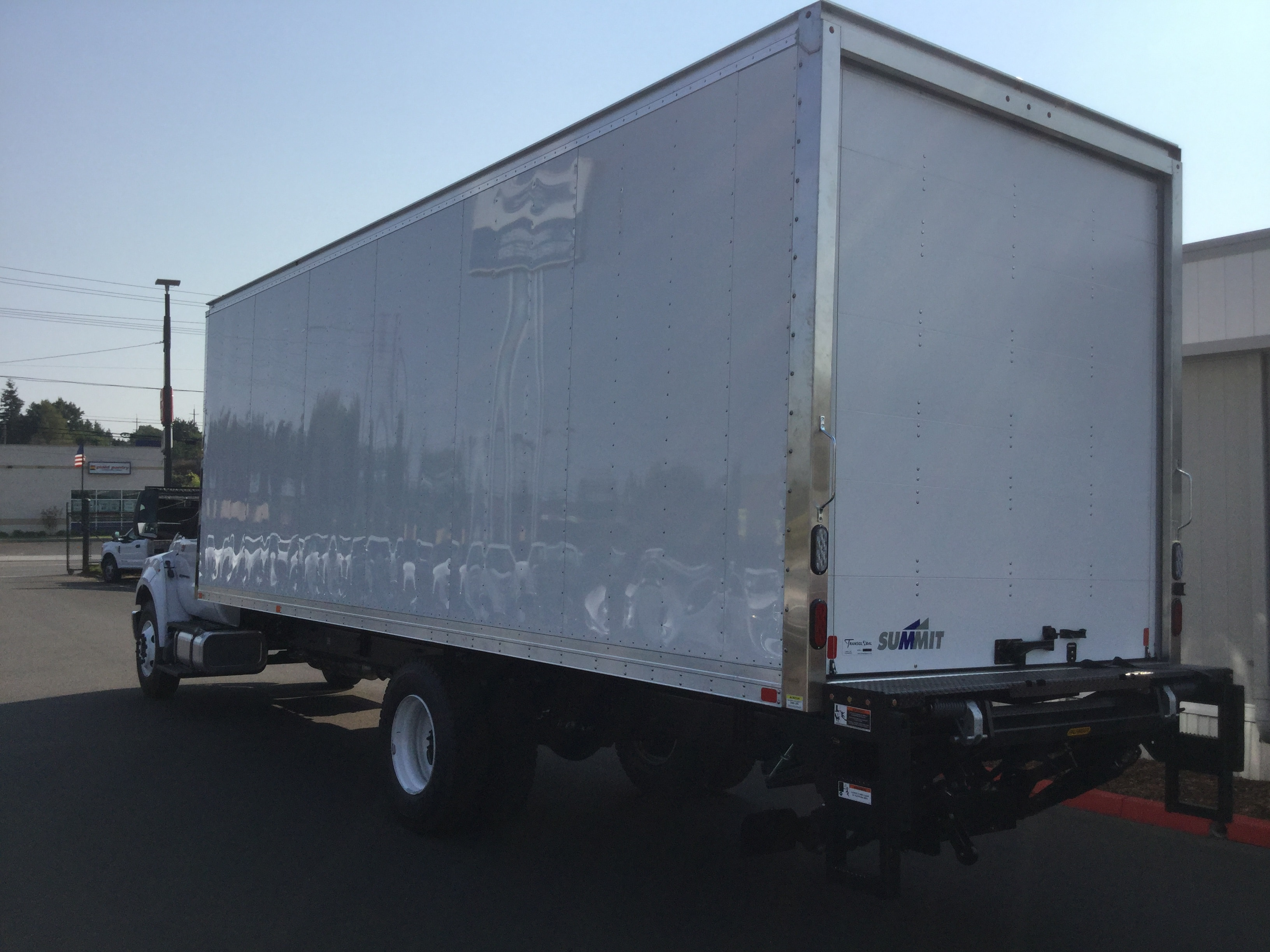 2018 F-650 Regular Cab DRW 4x2,  Summit Dry Freight #6803 - photo 2