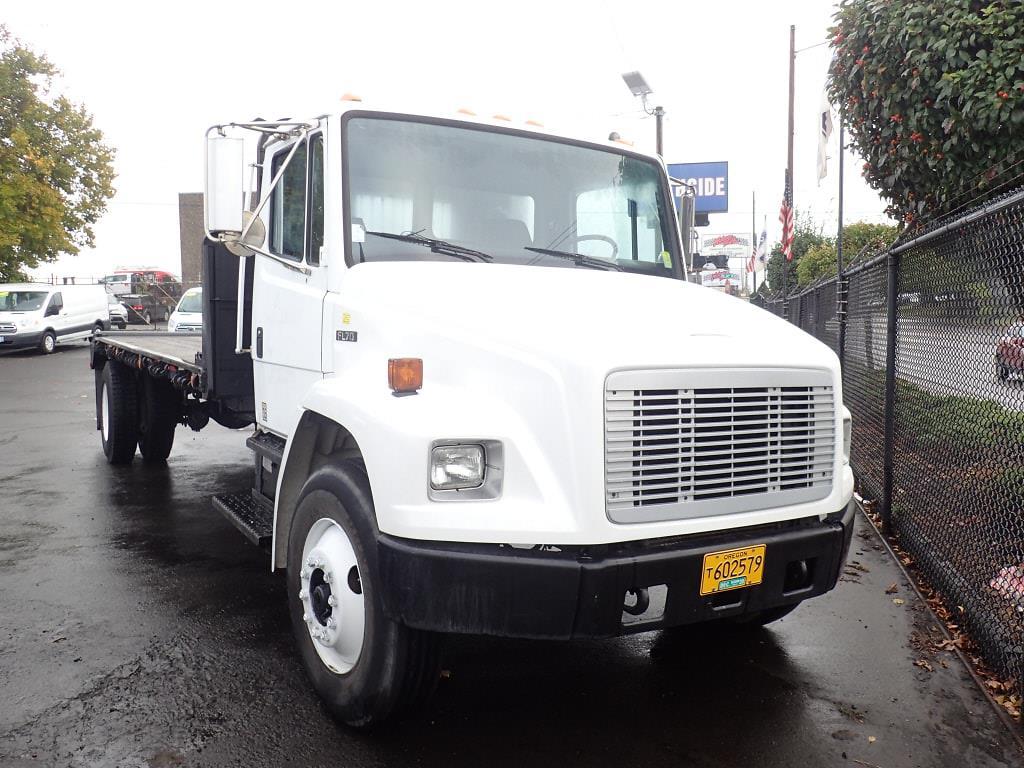 1999 Freightliner Truck 4x2, Platform Body #6874A - photo 1