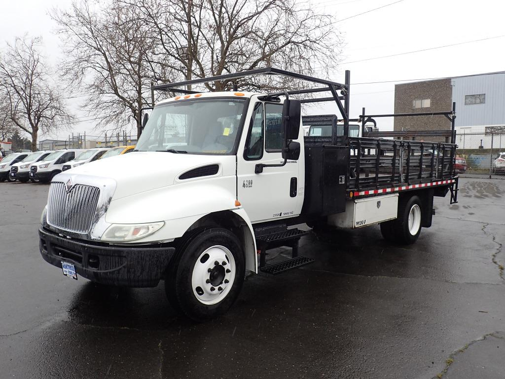 2003 International Truck 4x2, Stake Bed #6876A - photo 1