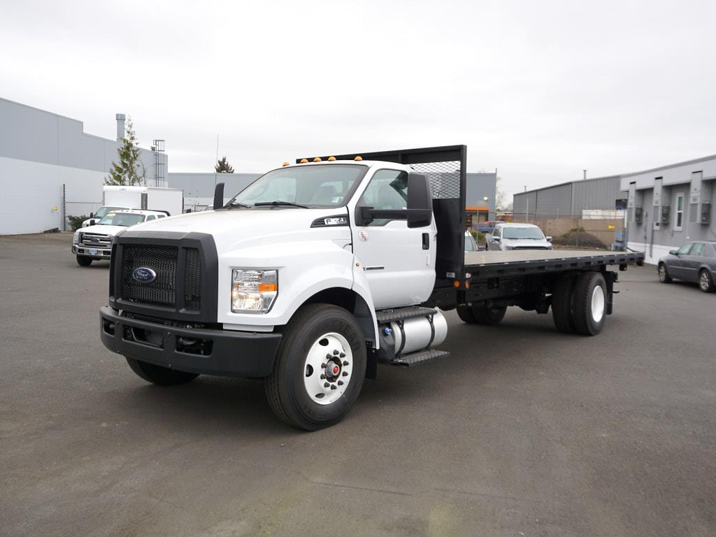 2022 Ford F-650 Regular Cab DRW 4x2, Platform Body #6887 - photo 1