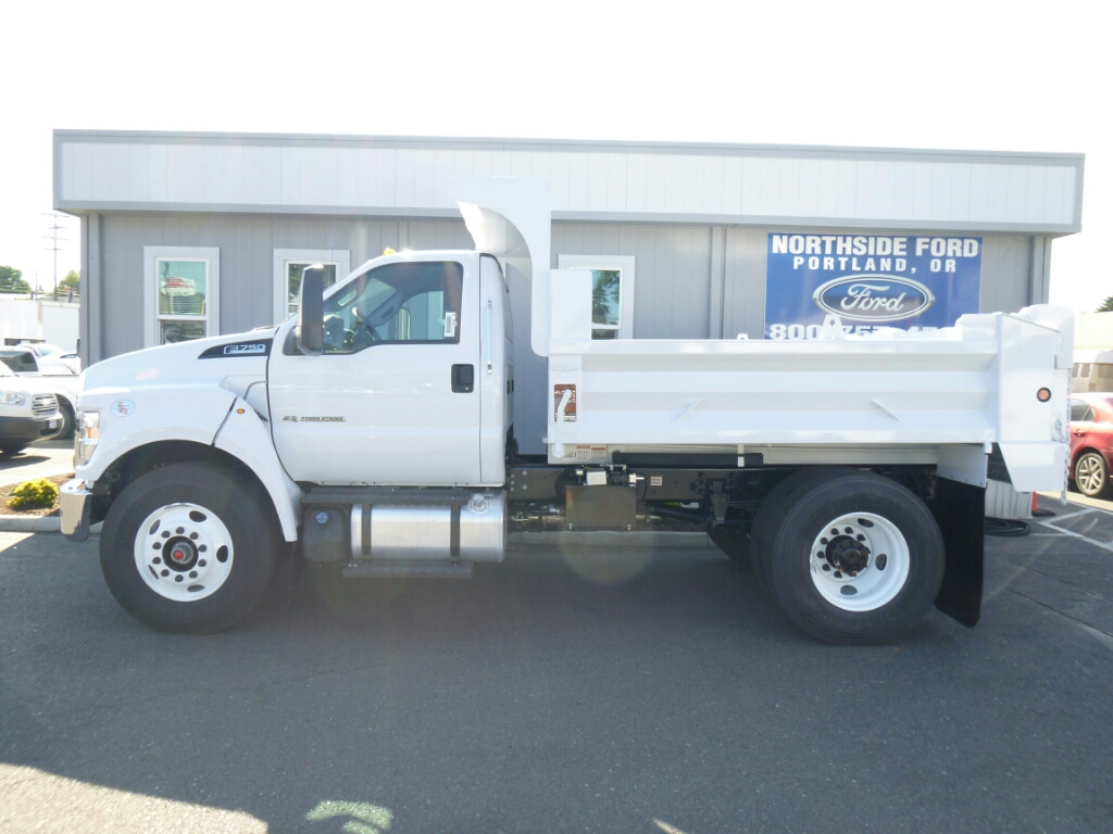2016 F-750 Regular Cab DRW, Beau-Roc Dump Body #7015 - photo 3