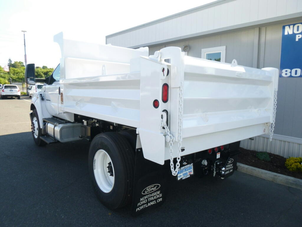 2016 F-750 Regular Cab DRW, Beau-Roc Dump Body #7015 - photo 2
