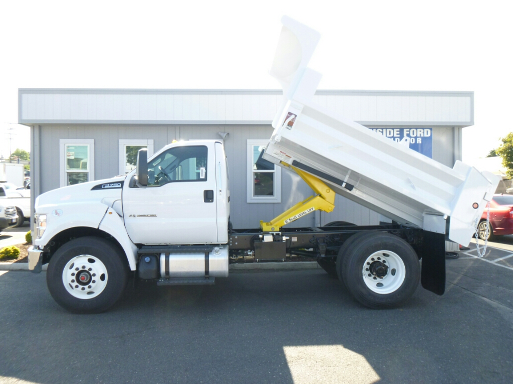 2016 F-750 Regular Cab DRW, Beau-Roc Dump Body #7015 - photo 10