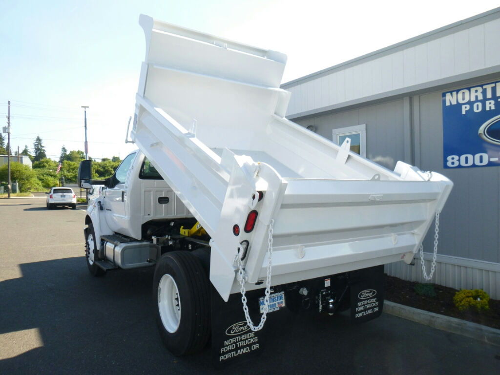 2016 F-750 Regular Cab DRW, Beau-Roc Dump Body #7015 - photo 11