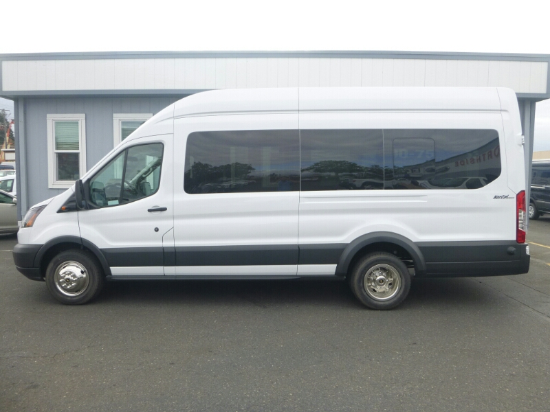 2015 Transit 350 HD High Roof DRW, Passenger Wagon #C53906 - photo 3