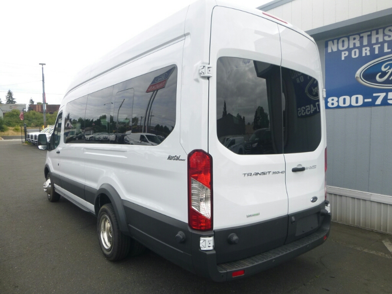 2015 Transit 350 HD High Roof DRW, Passenger Wagon #C53906 - photo 2
