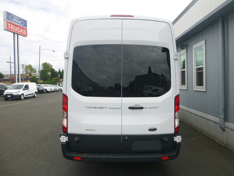 2015 Transit 350 HD High Roof DRW, Passenger Wagon #C53906 - photo 4