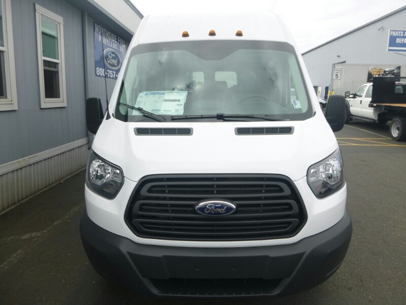 2015 Transit 350 HD High Roof DRW, Passenger Wagon #C53906 - photo 5