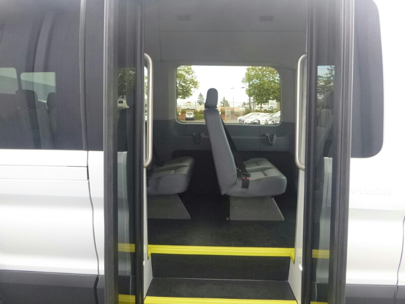 2015 Transit 350 HD High Roof DRW, Passenger Wagon #C53906 - photo 8