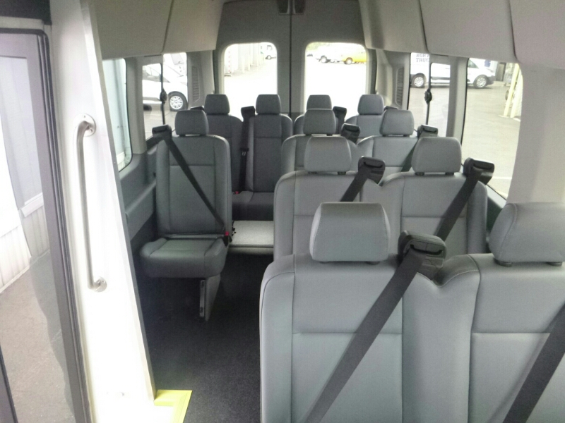 2015 Transit 350 HD High Roof DRW, Passenger Wagon #C53906 - photo 9