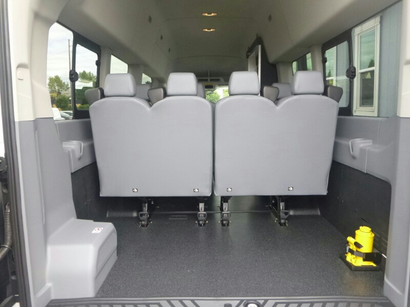 2015 Transit 350 HD High Roof DRW, Passenger Wagon #C53906 - photo 11