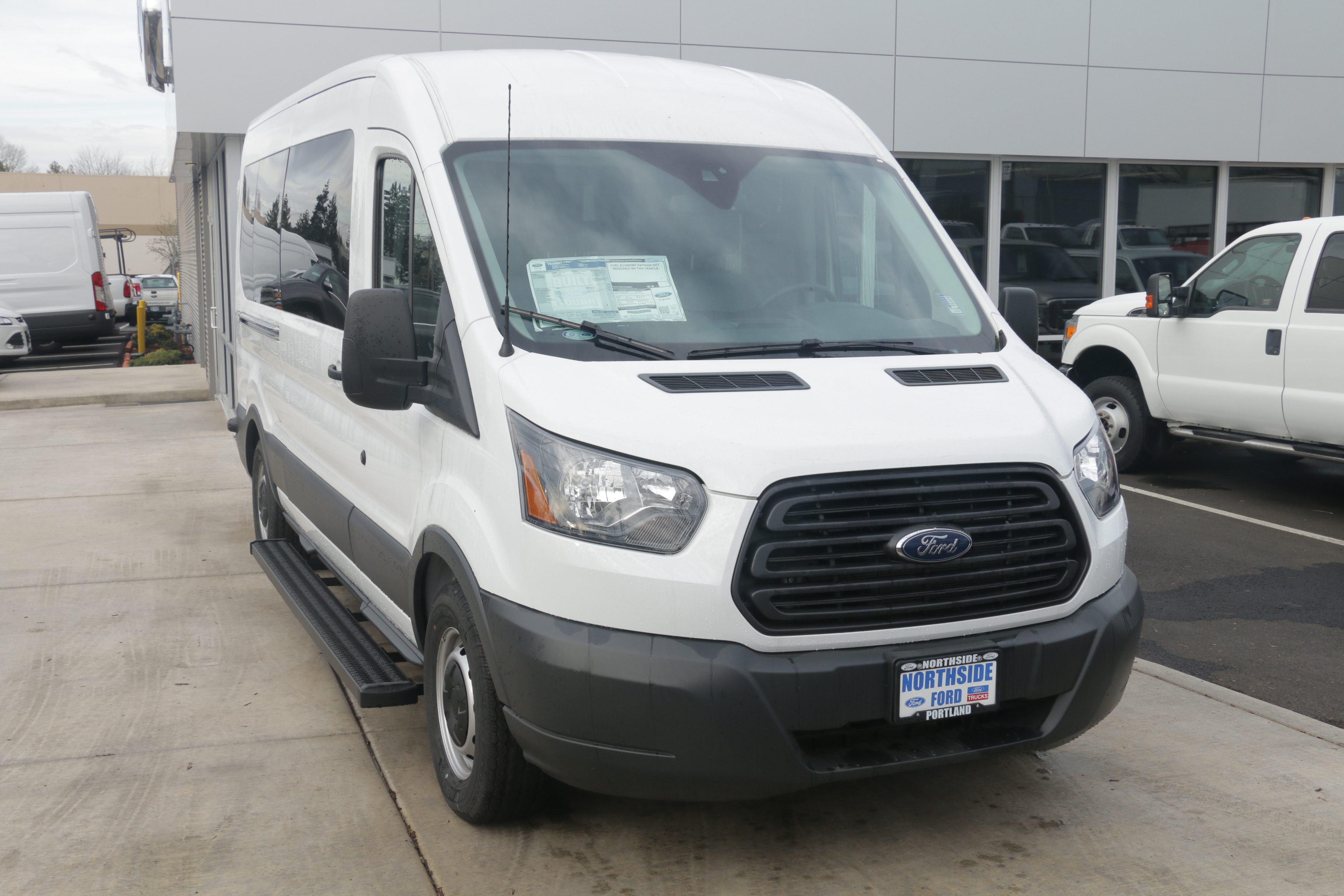 2015 Transit 350, Braun Industries Van Upfit #C54440 - photo 4