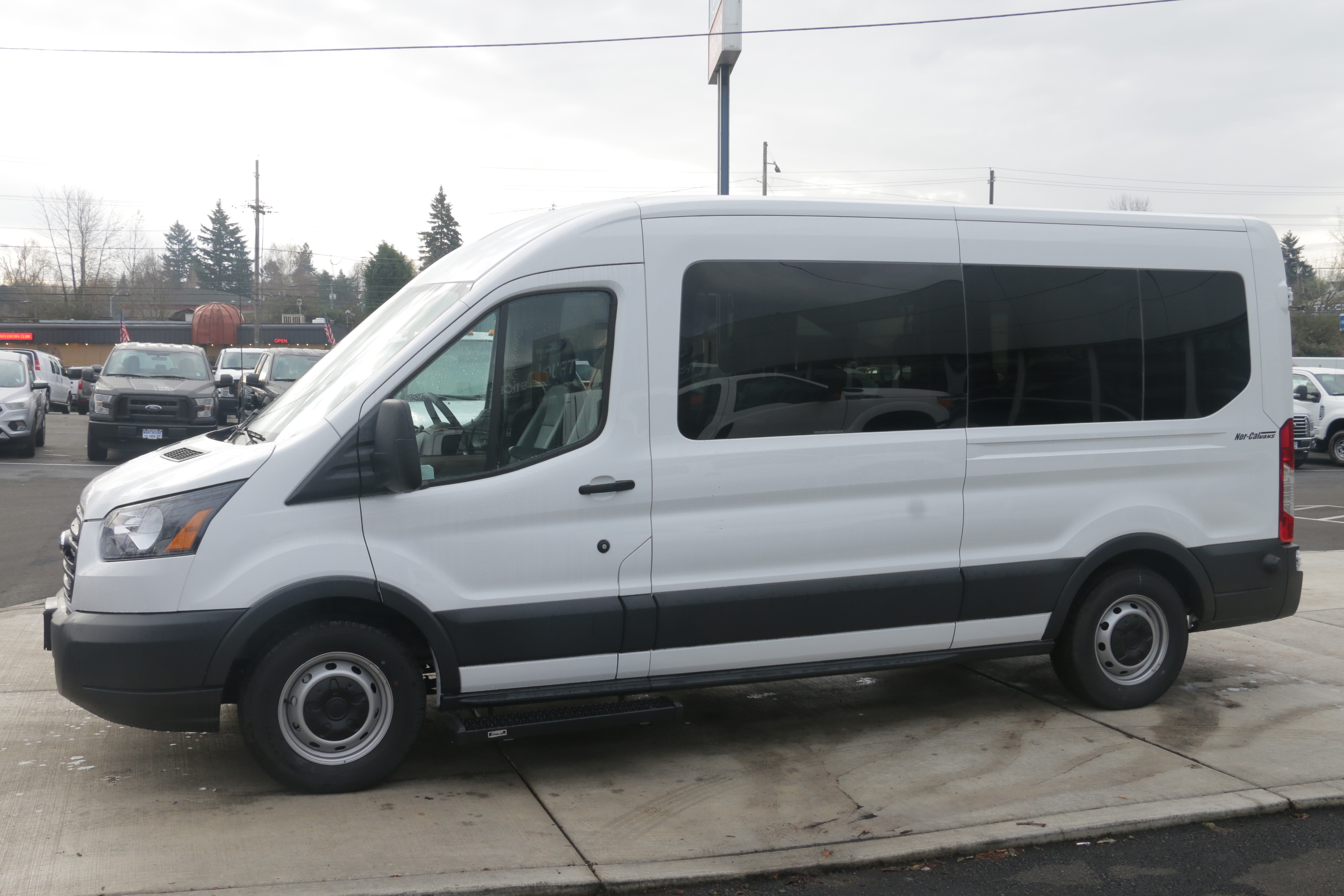 2015 Transit 350, Braun Industries Van Upfit #C54440 - photo 6