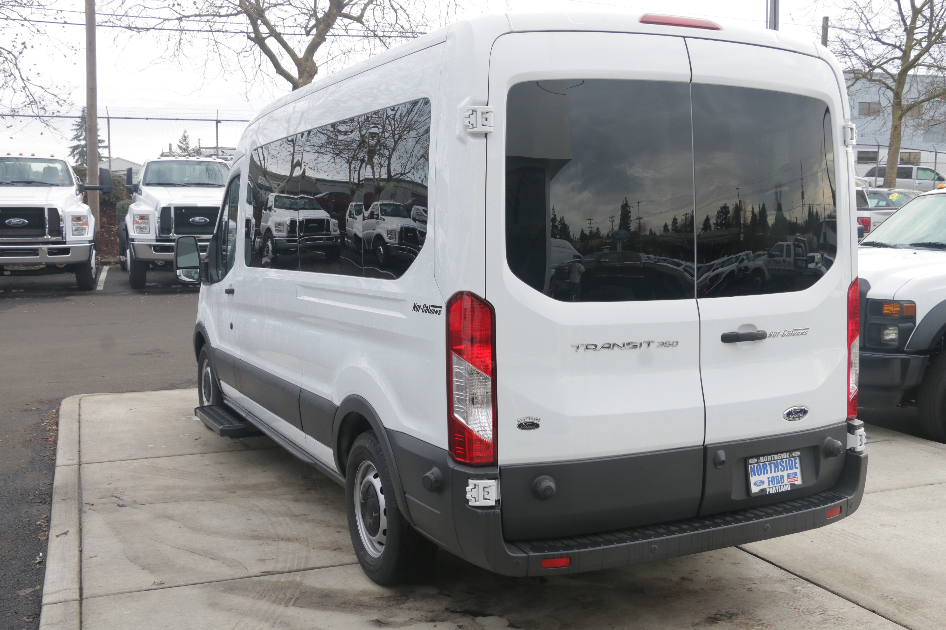 2015 Transit 350, Braun Industries Van Upfit #C54440 - photo 3