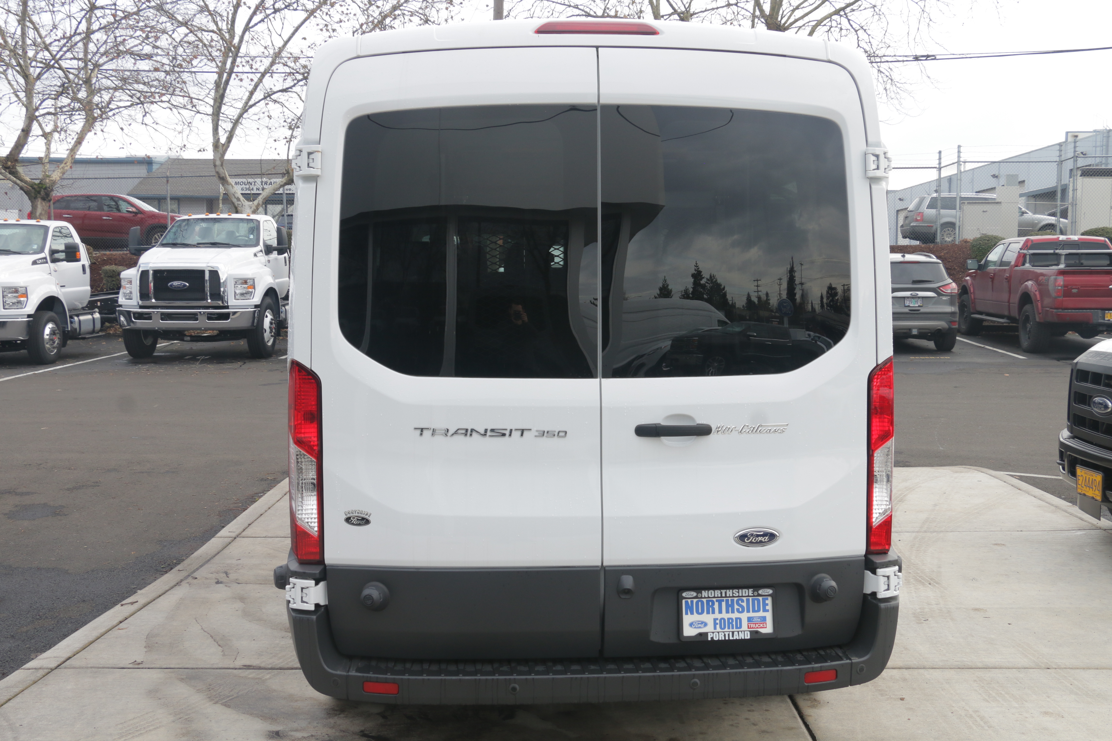 2015 Transit 350, Braun Industries Van Upfit #C54440 - photo 7