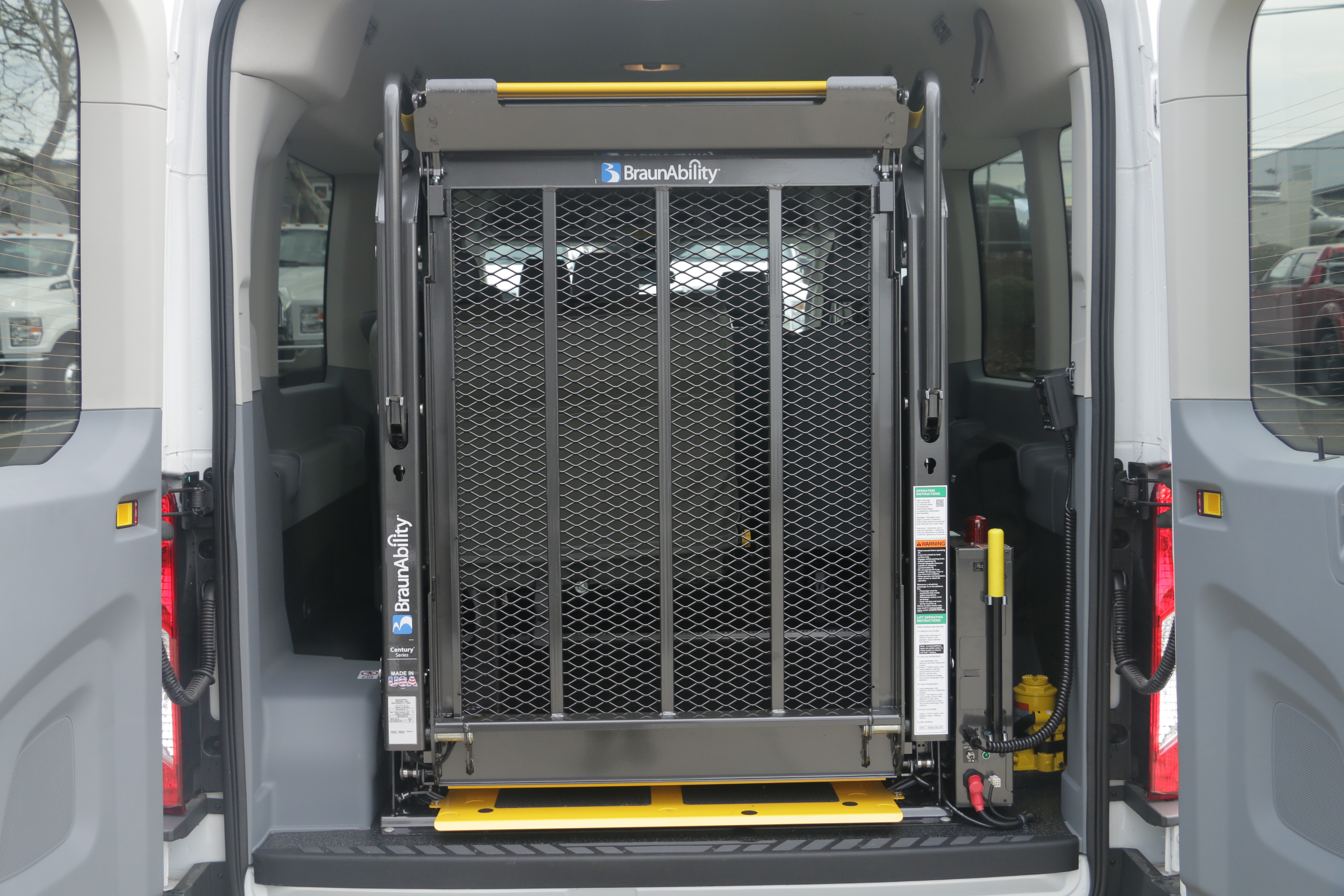 2015 Transit 350, Braun Industries Van Upfit #C54440 - photo 2