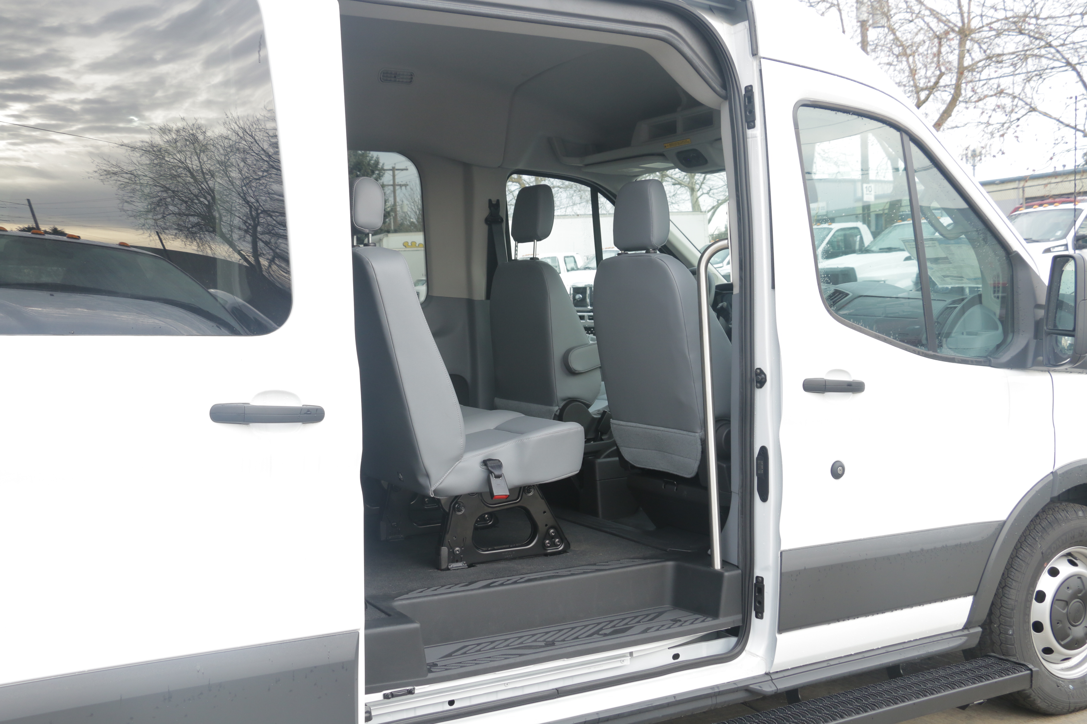 2015 Transit 350, Braun Industries Van Upfit #C54440 - photo 8