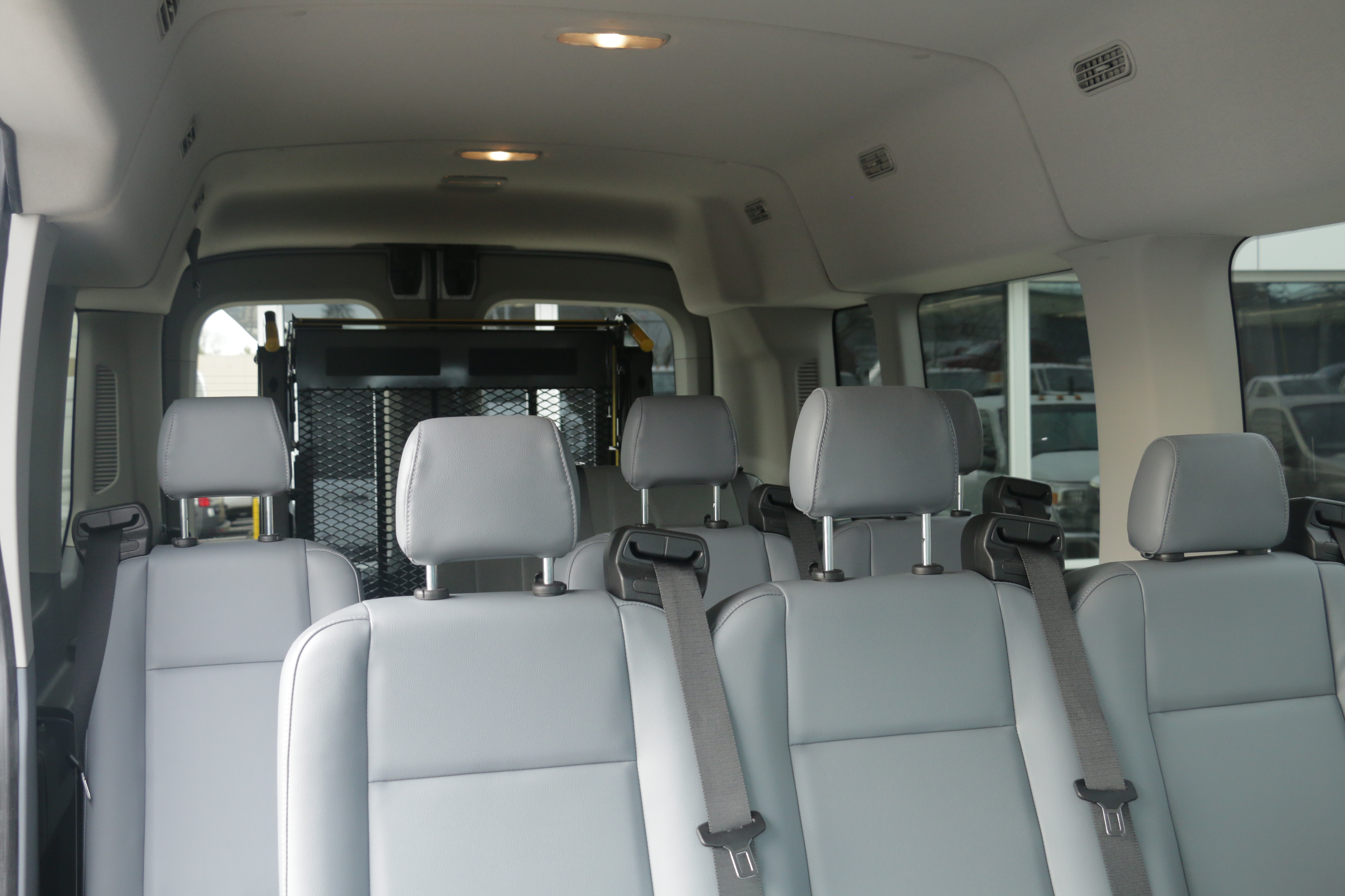 2015 Transit 350, Braun Industries Van Upfit #C54440 - photo 14