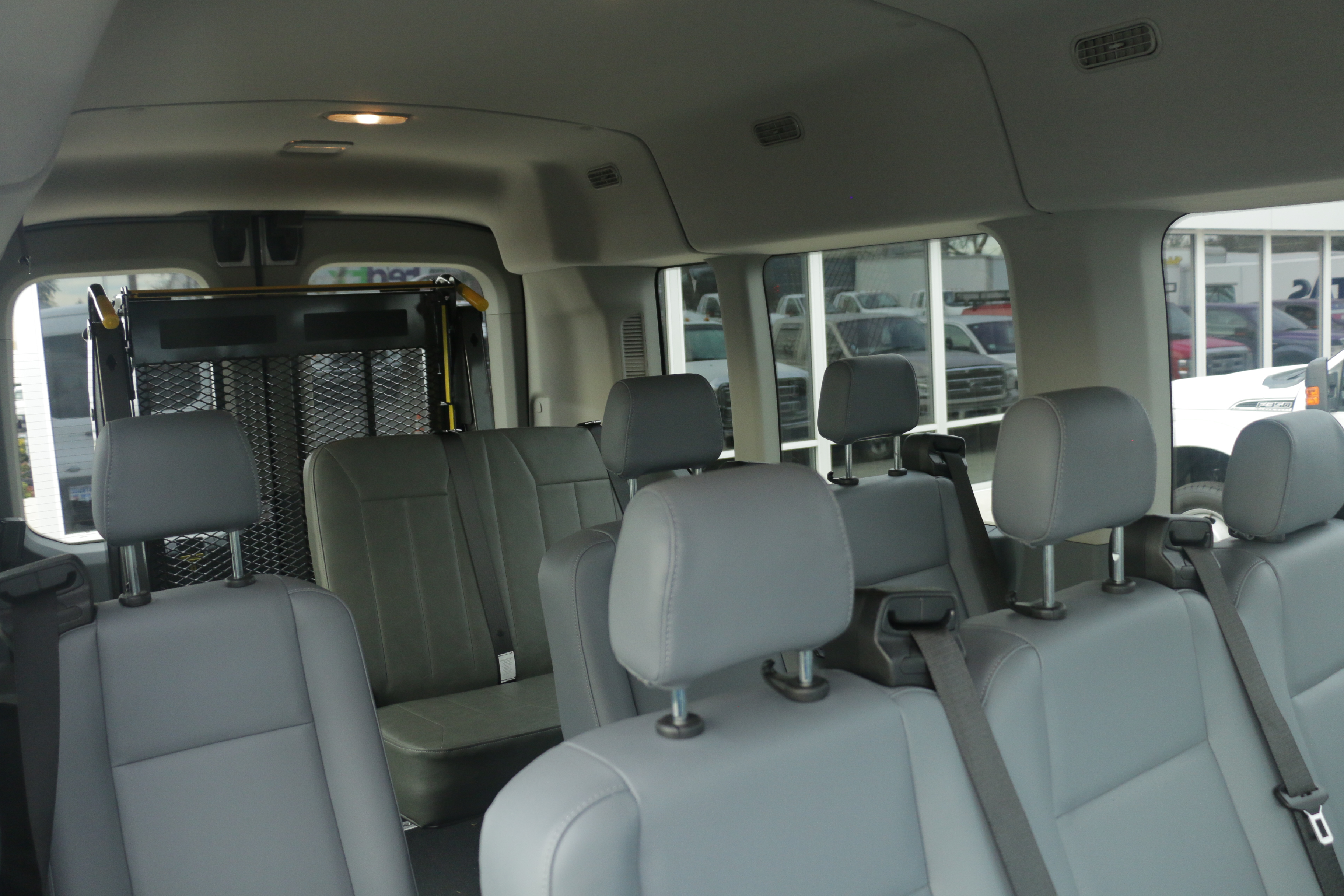 2015 Transit 350, Braun Industries Van Upfit #C54440 - photo 15