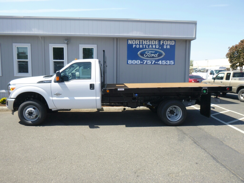 2016 F-350 Regular Cab DRW 4x4, Reading Platform Body #C64207 - photo 3