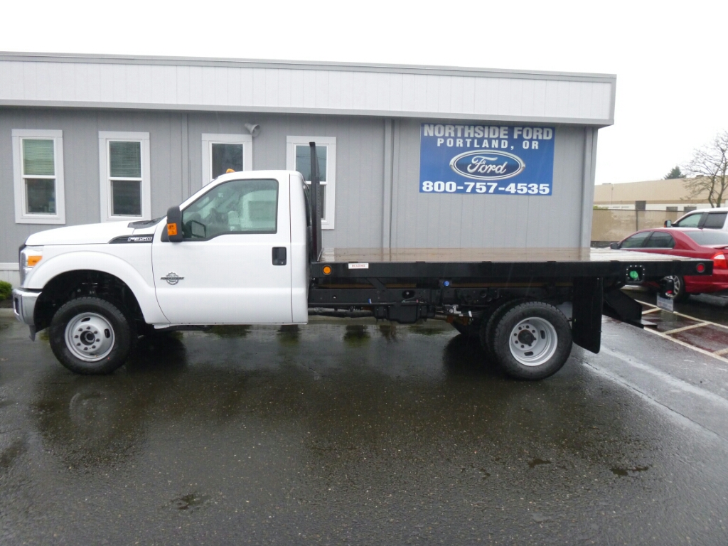 2016 F-350 Regular Cab DRW 4x4, Reading Platform Body #C64208 - photo 3