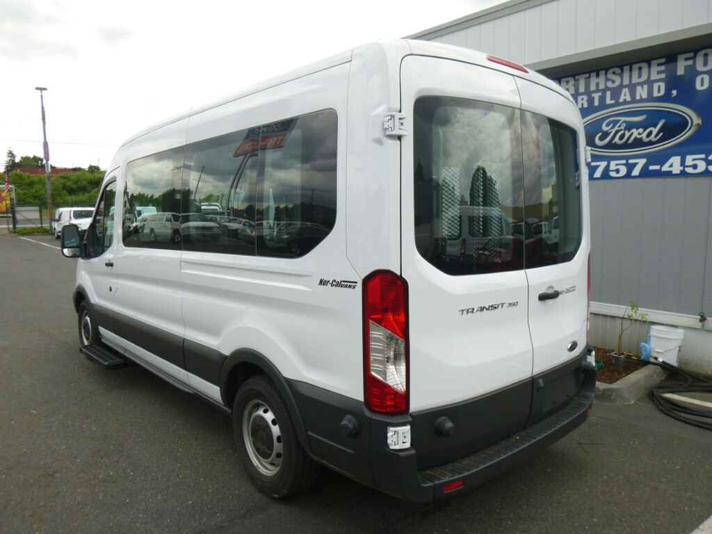 2016 Transit 350 Medium Roof, Braun Industries Van Upfit #C64439 - photo 3