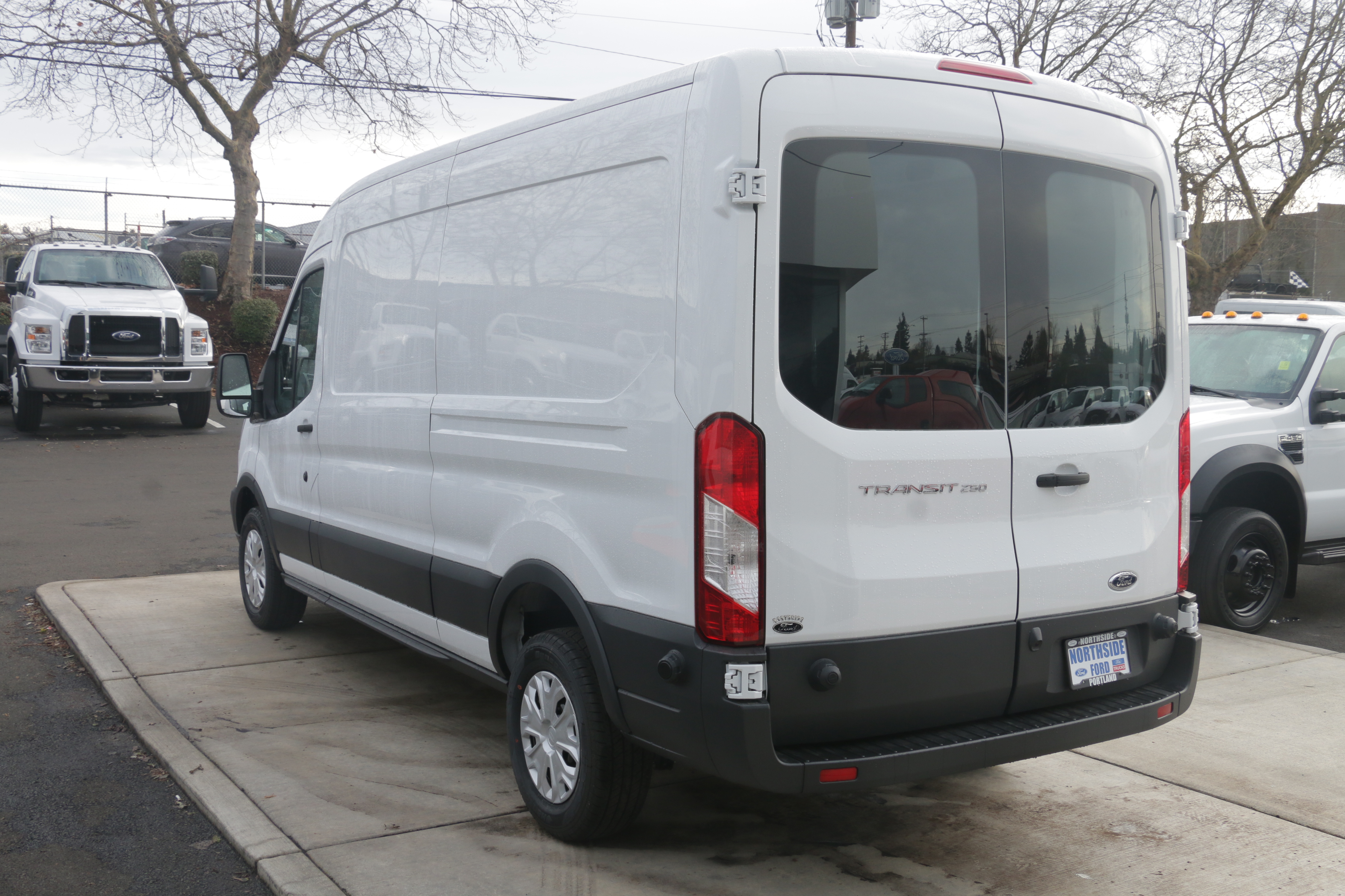 2017 Transit 250 Medium Roof, Cargo Van #C74688 - photo 2