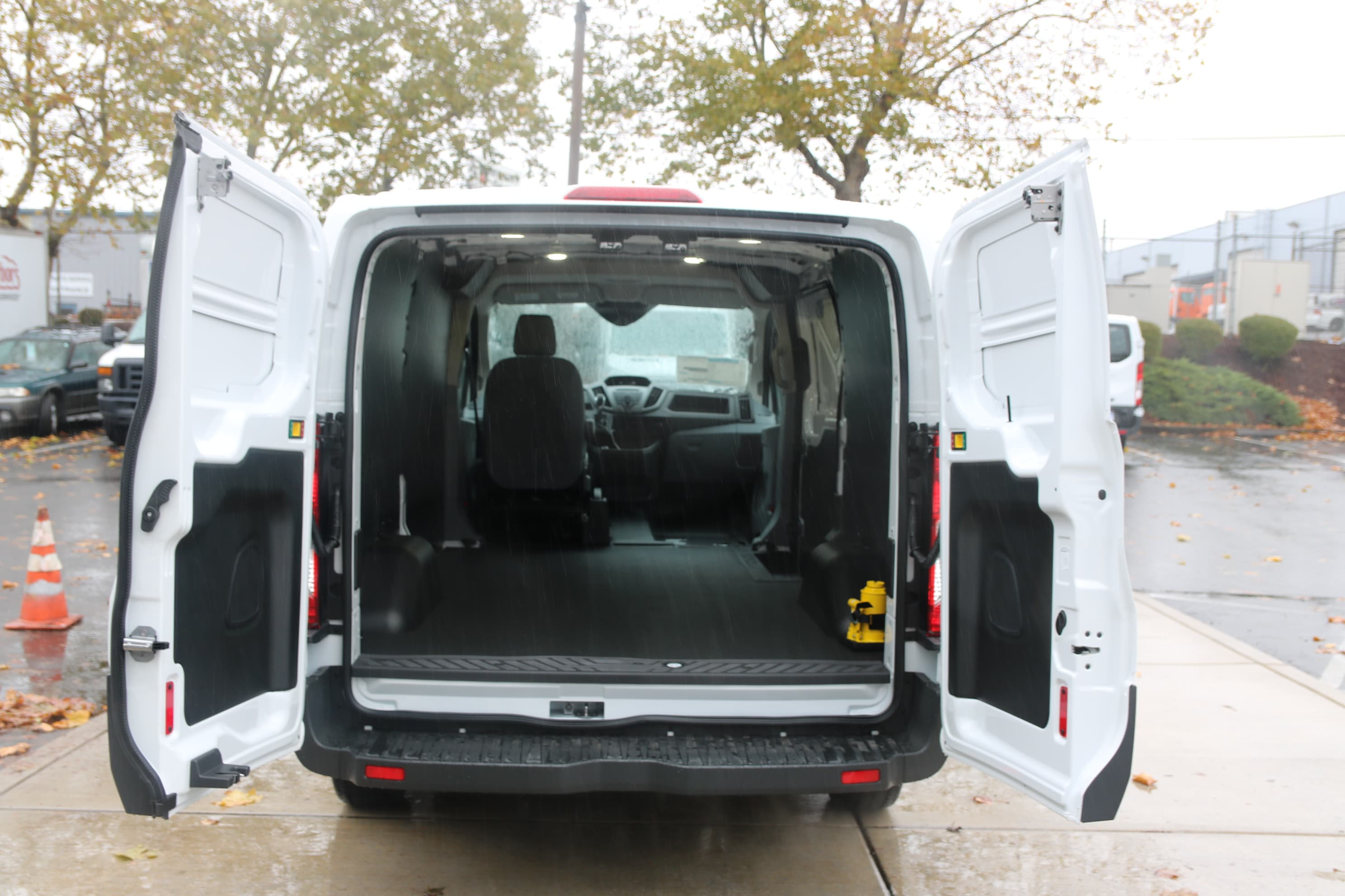 2017 Transit 150 Low Roof 4x2,  Empty Cargo Van #C75056 - photo 2