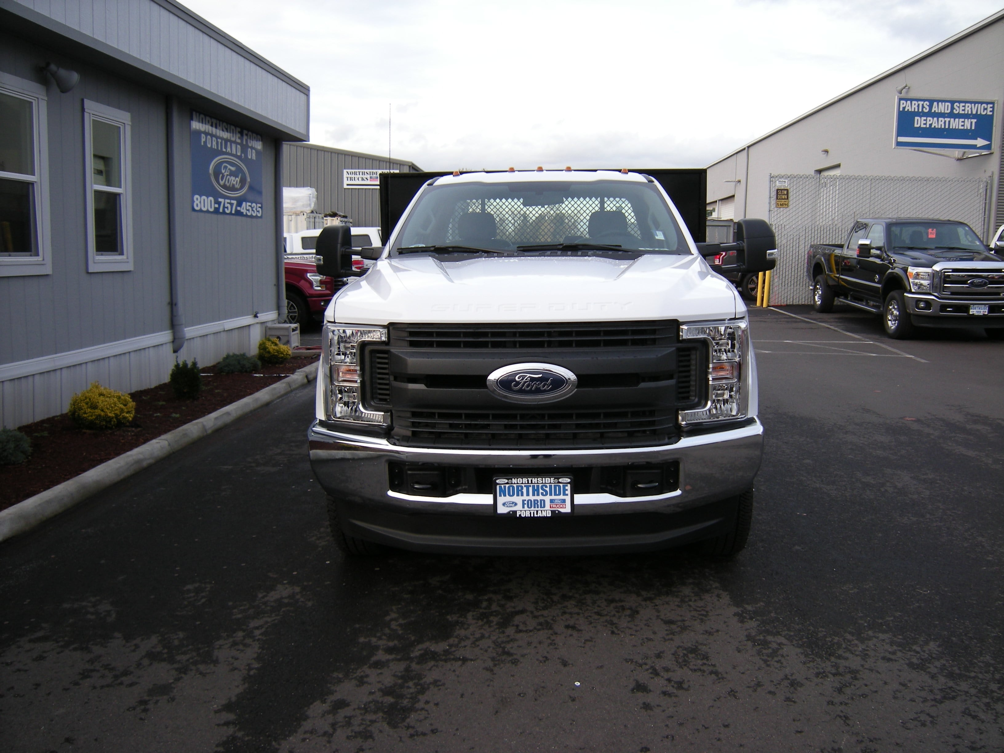 2017 F-350 Regular Cab DRW 4x4, Platform Body #C75102 - photo 4