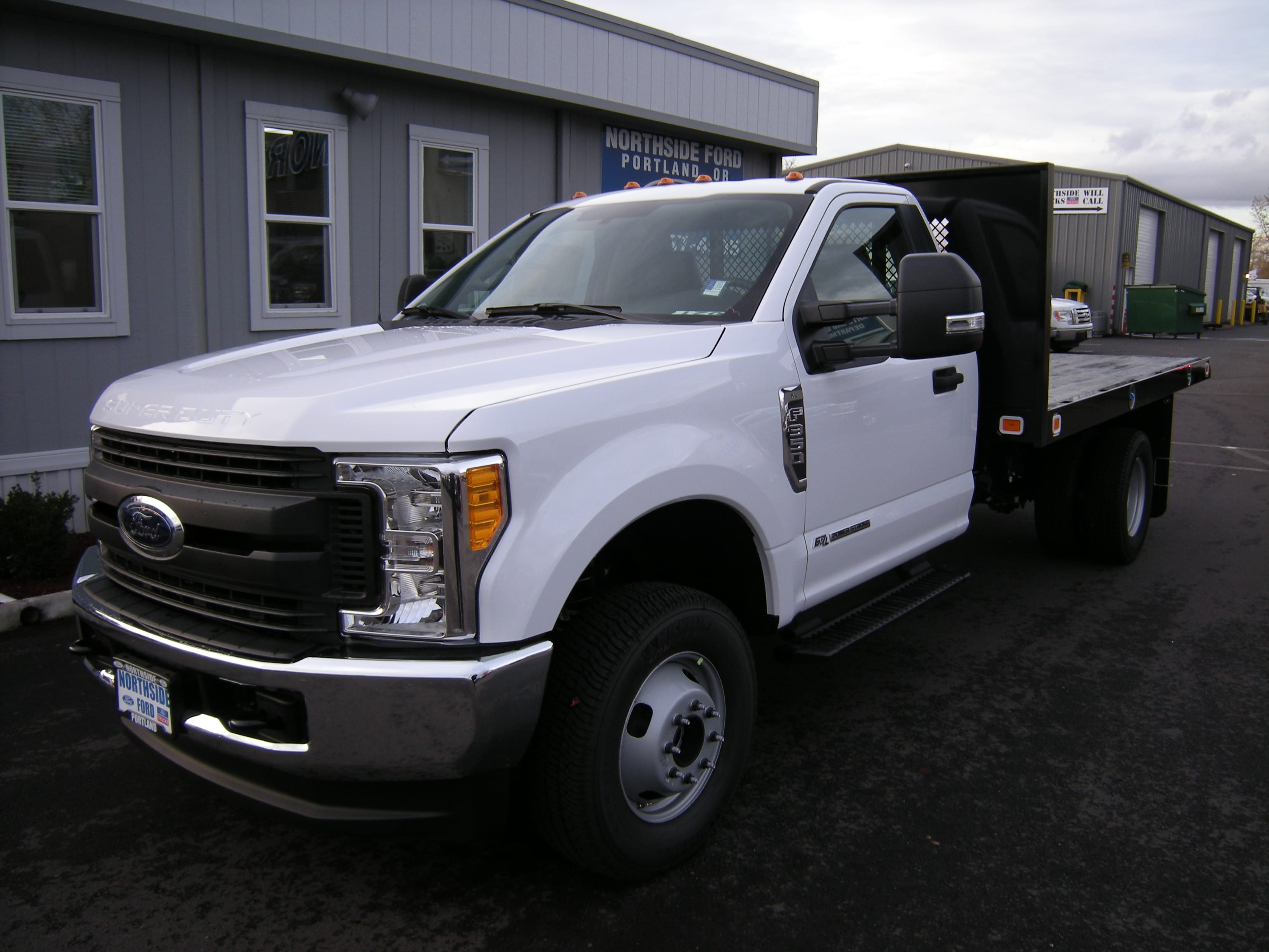 2017 F-350 Regular Cab DRW 4x4, Platform Body #C75102 - photo 3
