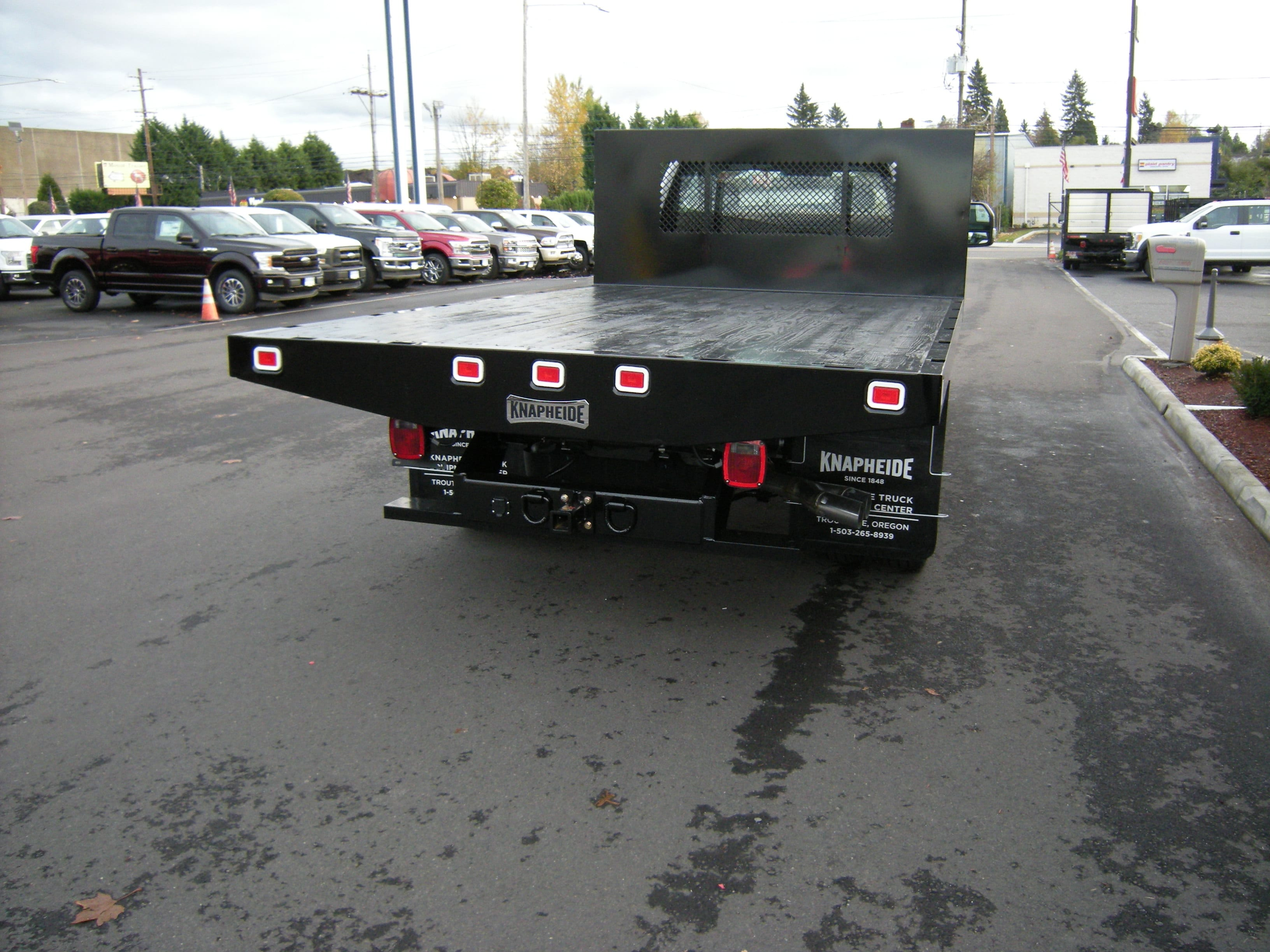 2017 F-350 Regular Cab DRW 4x4, Platform Body #C75102 - photo 2