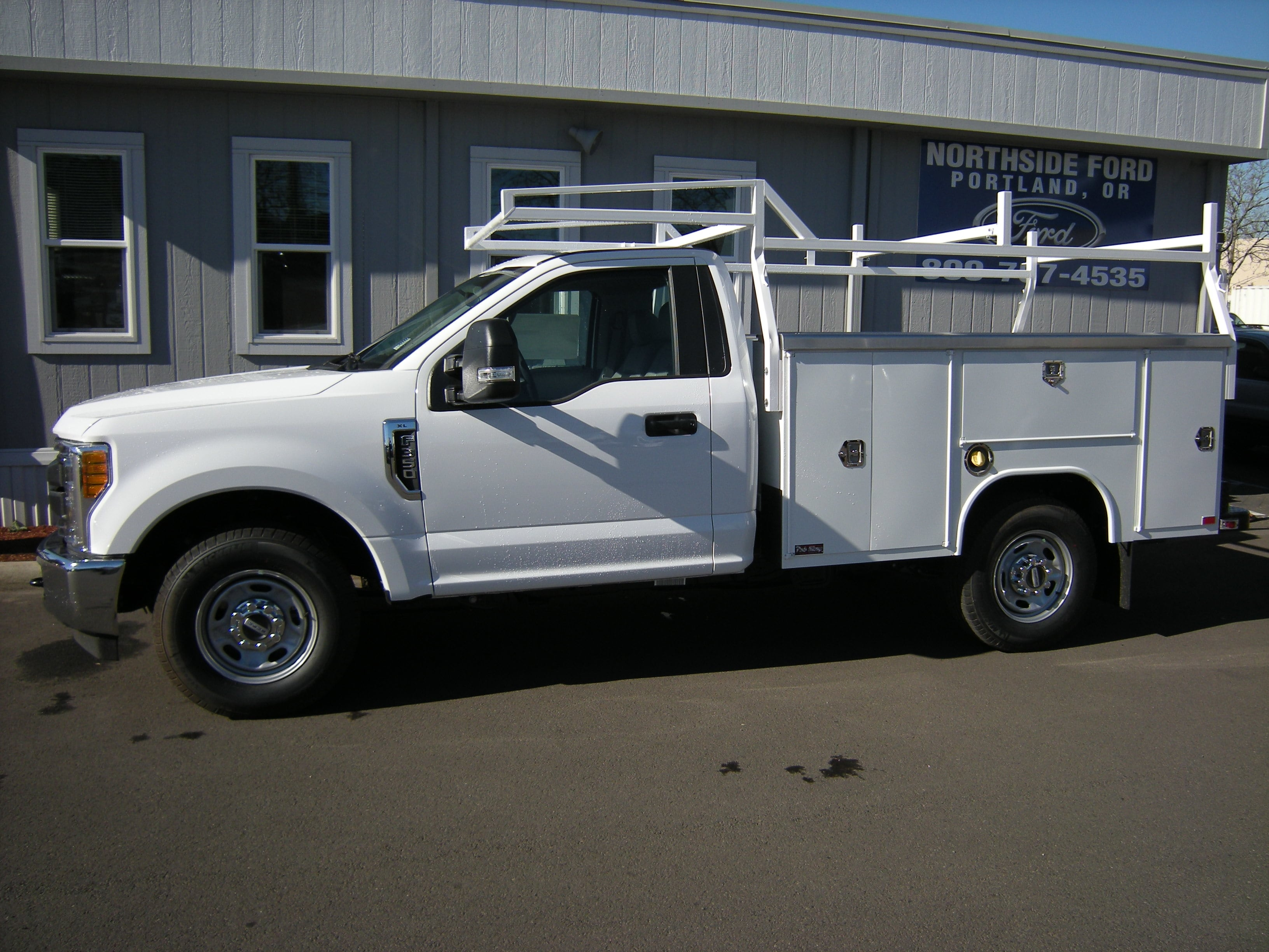 2017 F-350 Regular Cab, Harbor Service Body #C75379 - photo 3
