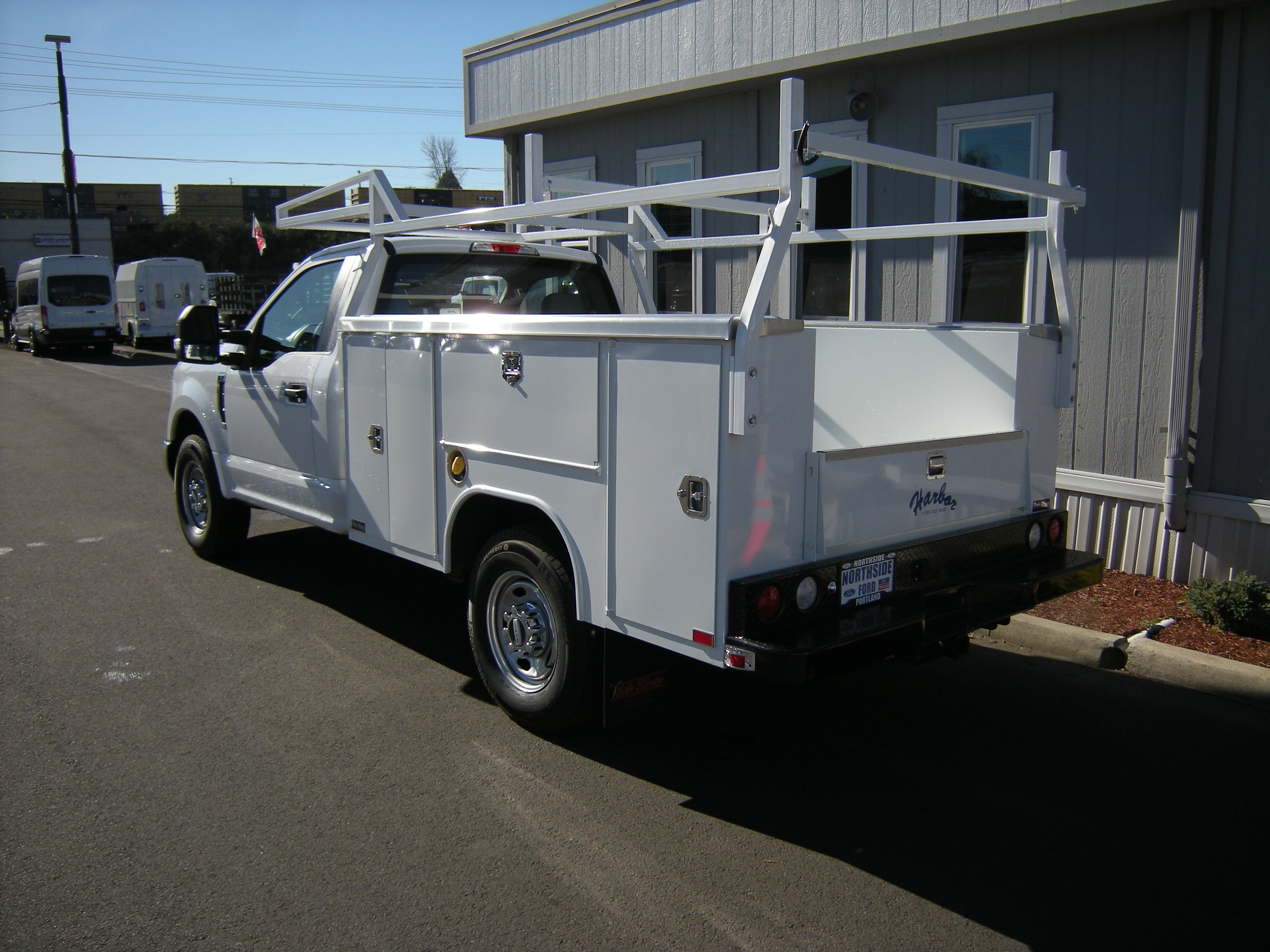 2017 F-350 Regular Cab, Harbor Service Body #C75379 - photo 2