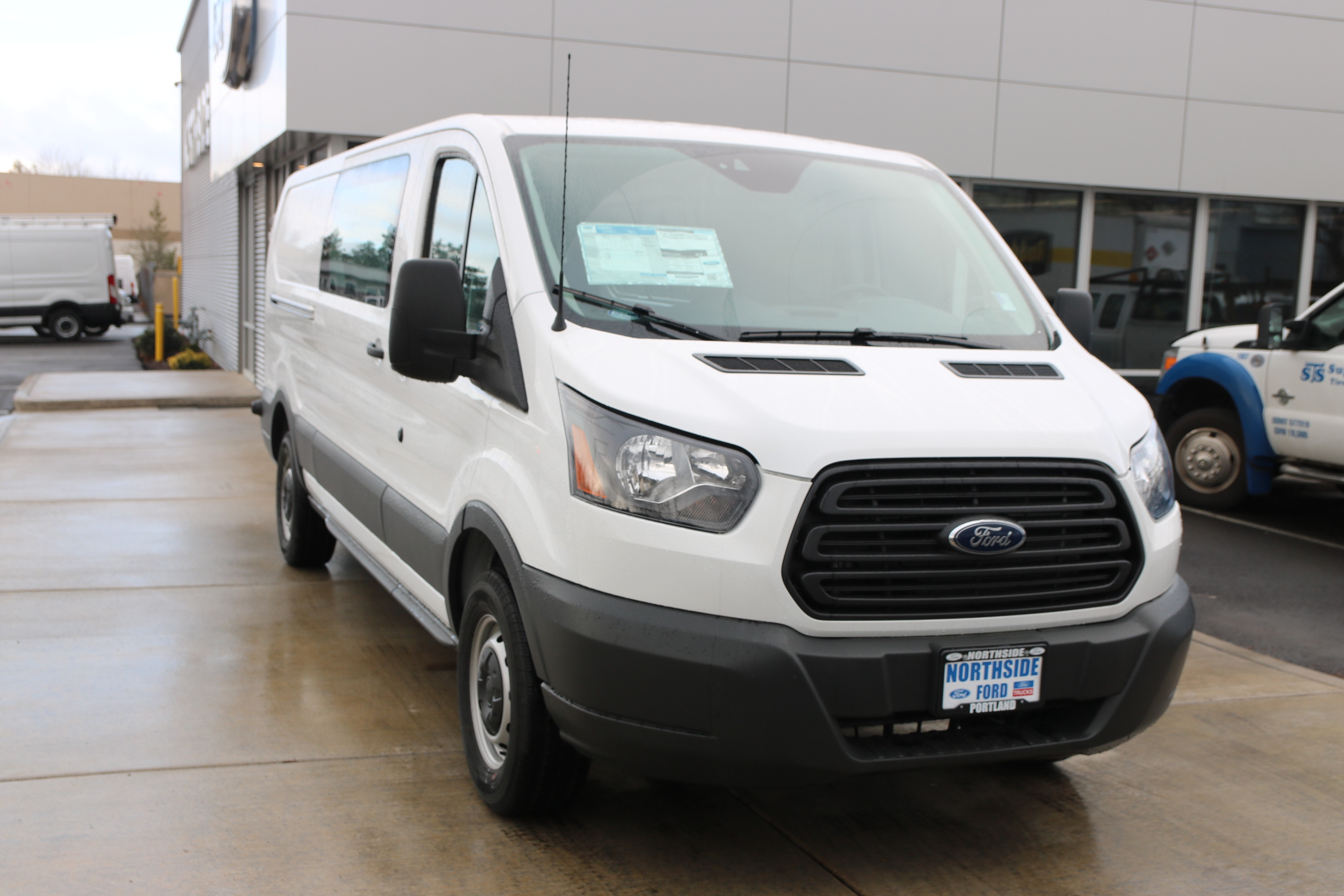 2017 Transit 150 Low Roof, Cargo Van #C75414 - photo 3