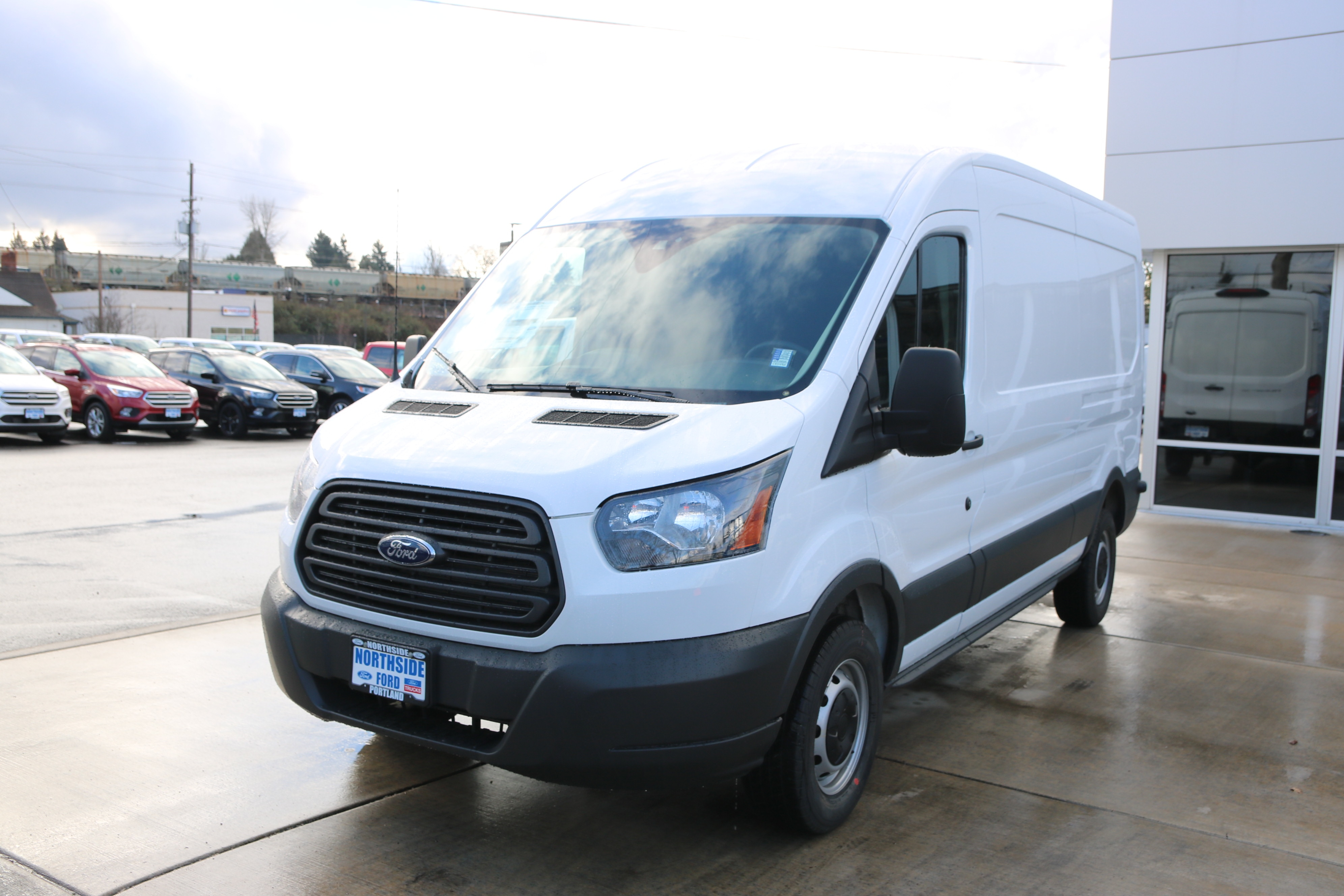New 2018 Ford Transit 250 Empty Cargo Van