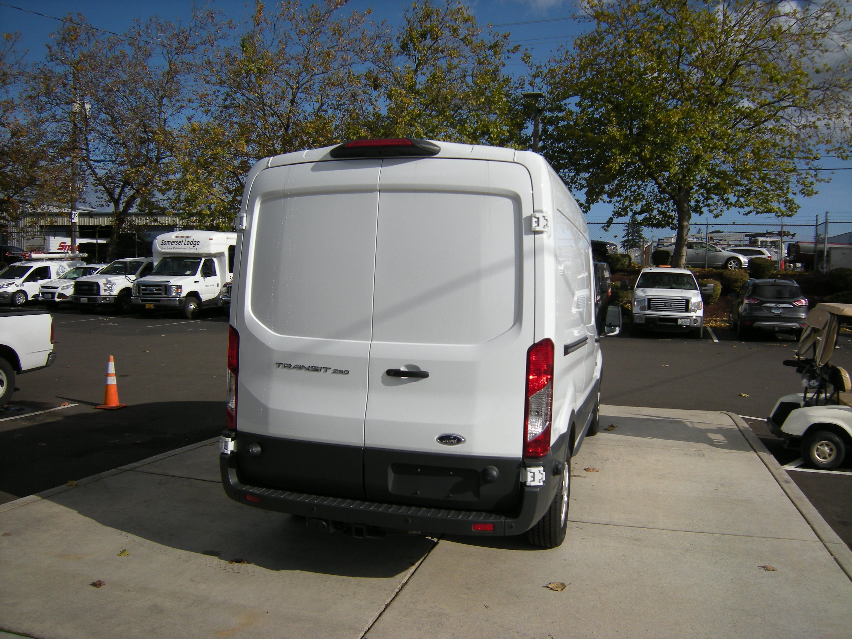 2018 Transit 250 Med Roof 4x2,  Thermo King Refrigerated Body #C85603 - photo 5