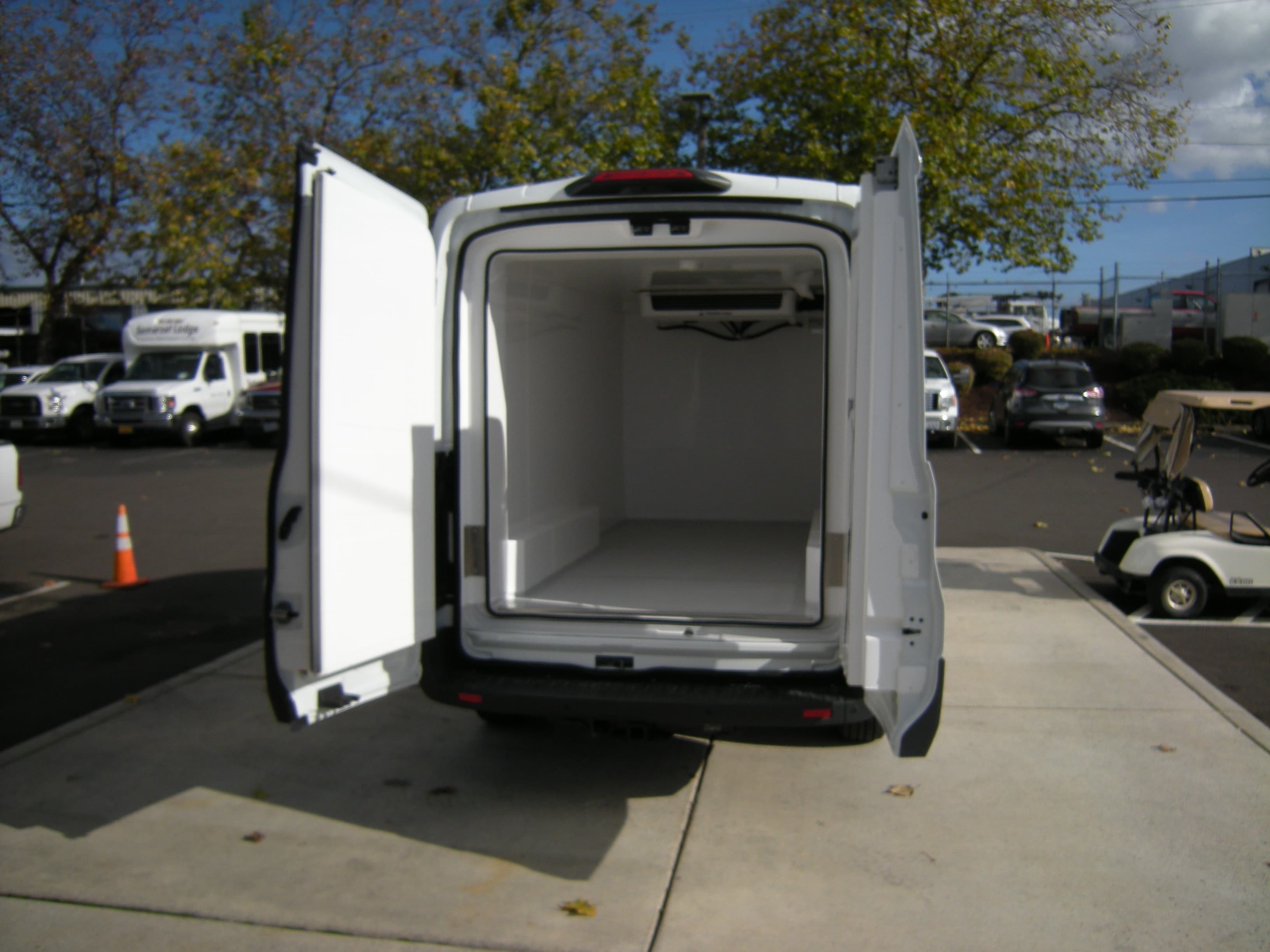 2018 Transit 250 Med Roof 4x2,  Thermo King Refrigerated Body #C85603 - photo 7