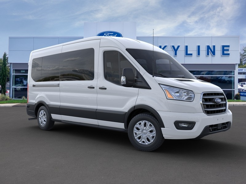 2020 Ford Transit 350 Med Roof RWD, Passenger Wagon #204913 - photo 7